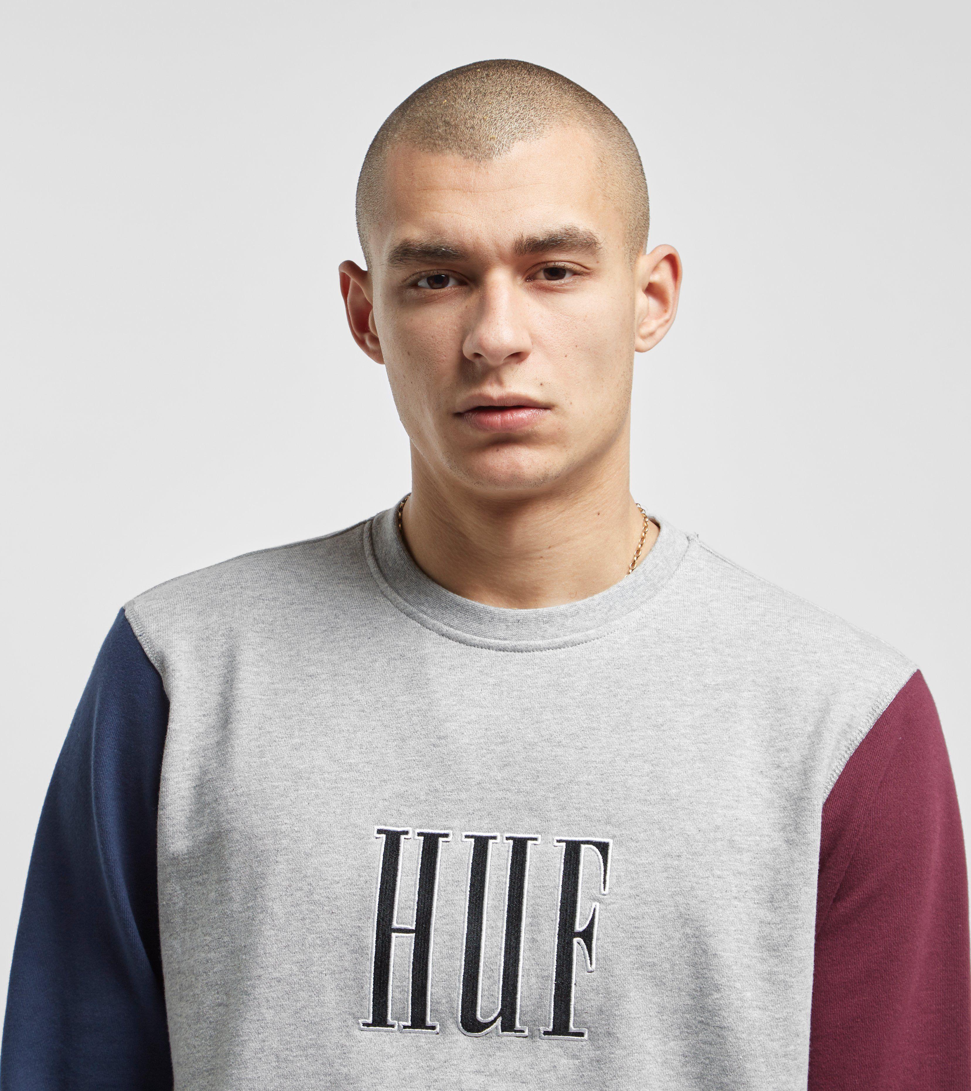HUF Crevasse Crewneck Sweatshirt