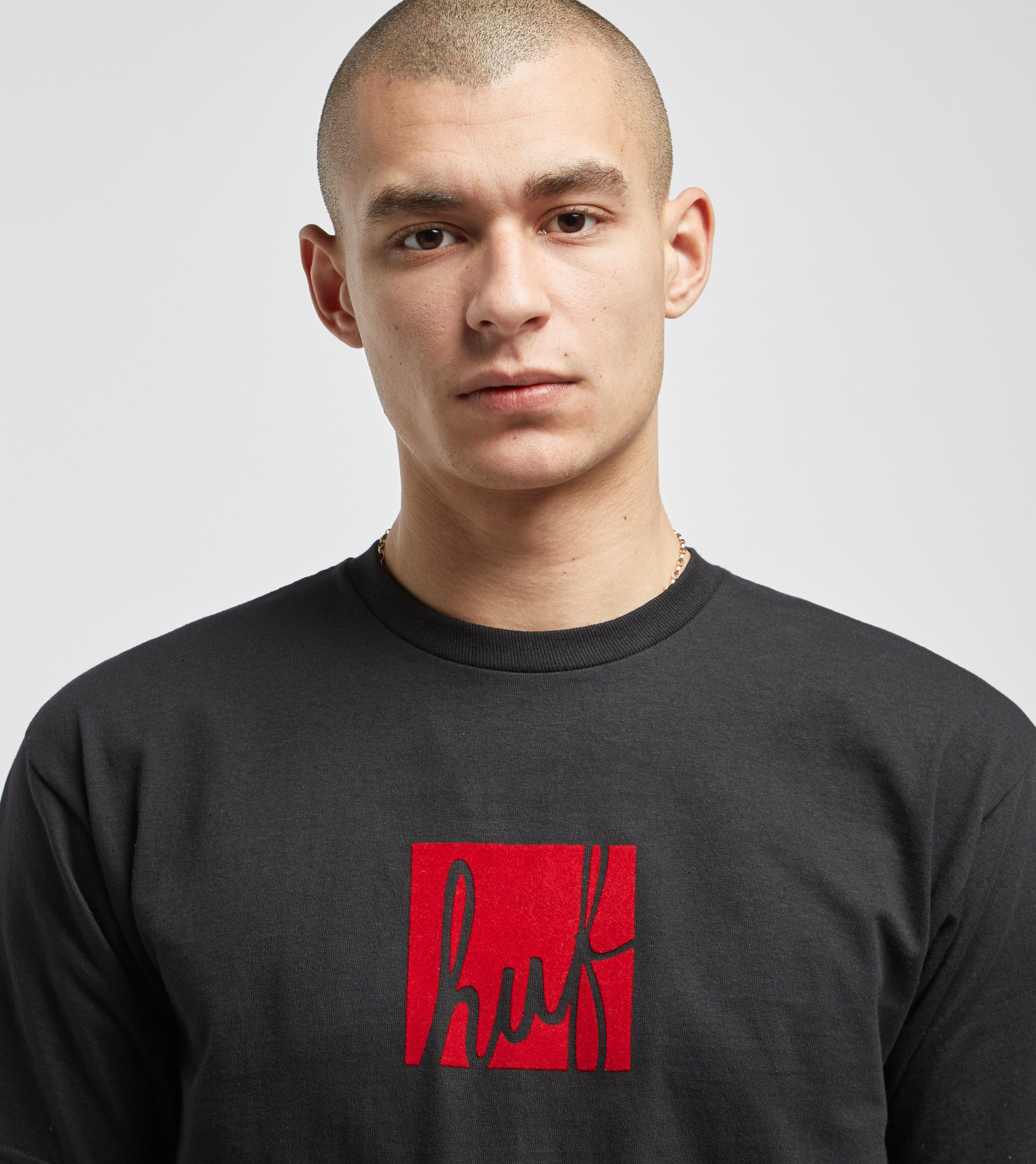 HUF Script Box Logo T-Shirt