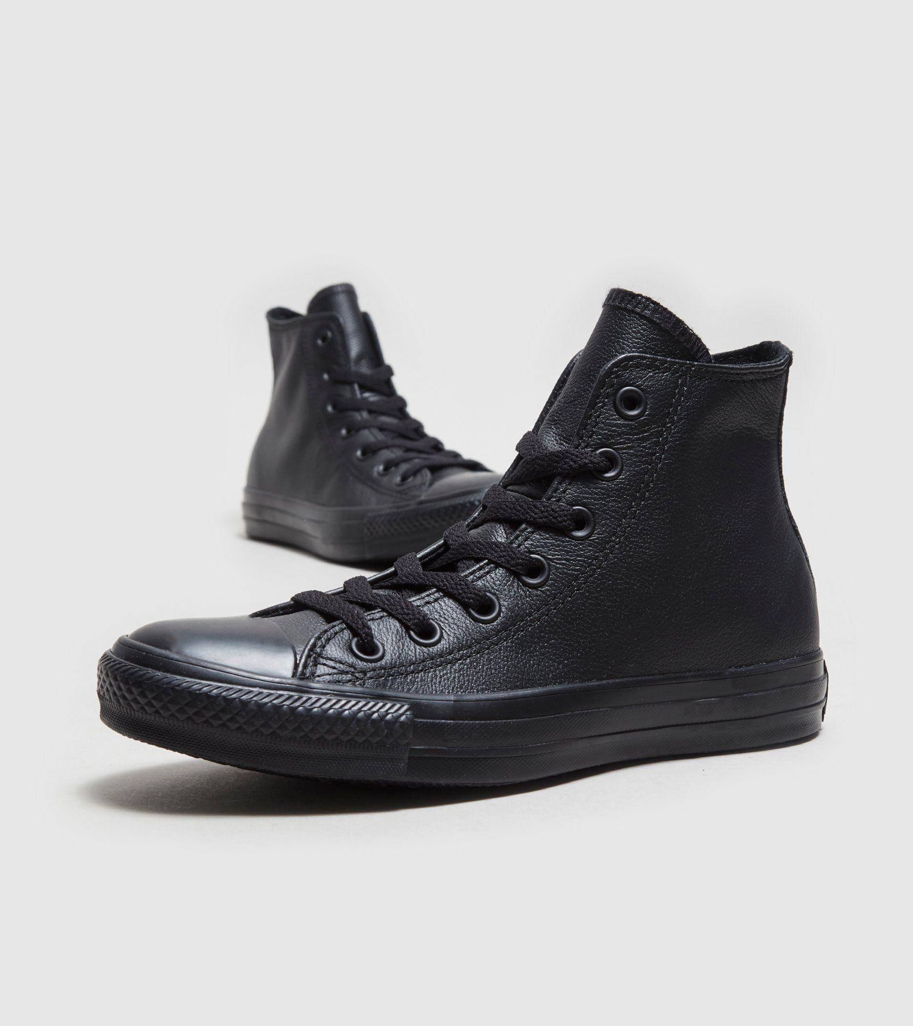 Converse All Star Hi Leather Mono