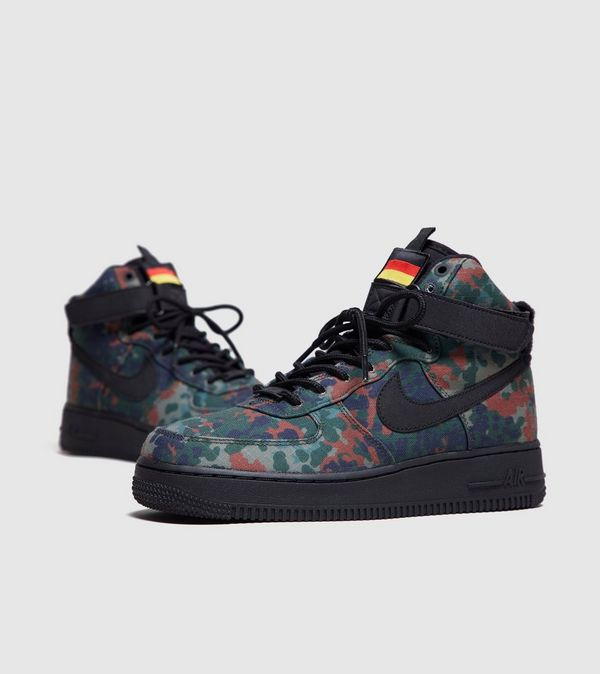 new concept 29cbc 44e79 Nike Air Force 1 High Camo Pack Germany Womens