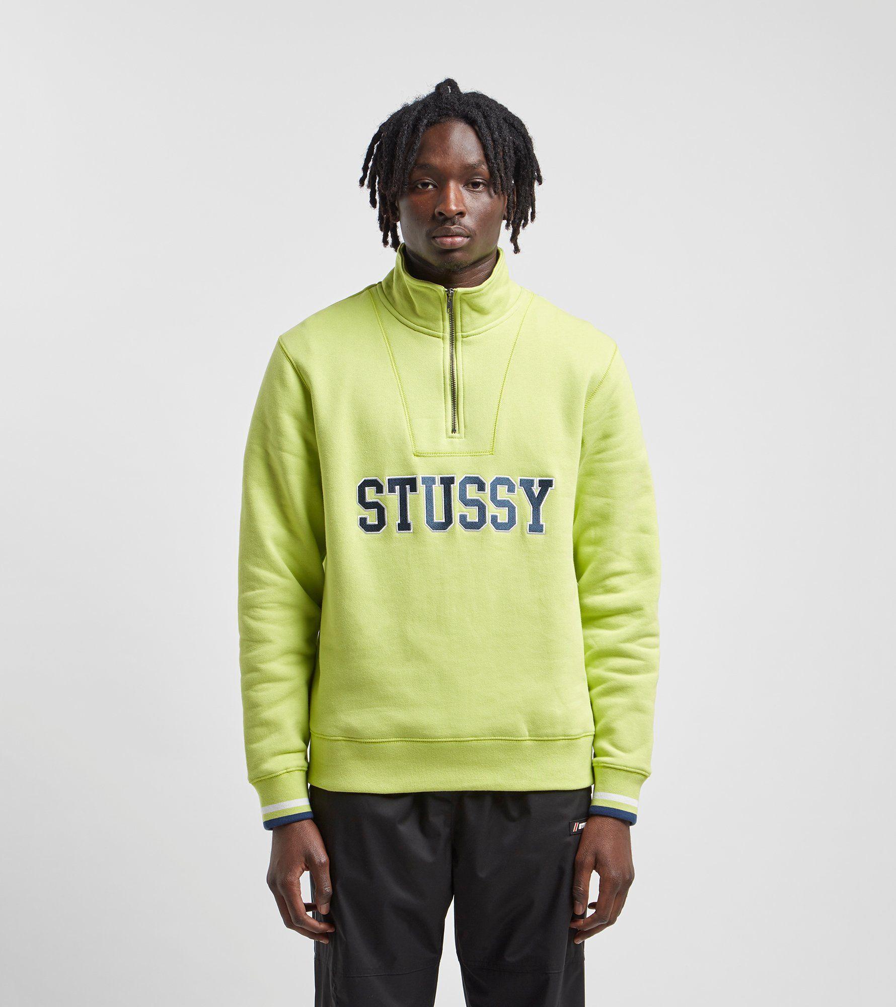 Stussy Contrast Rib Mock Neck