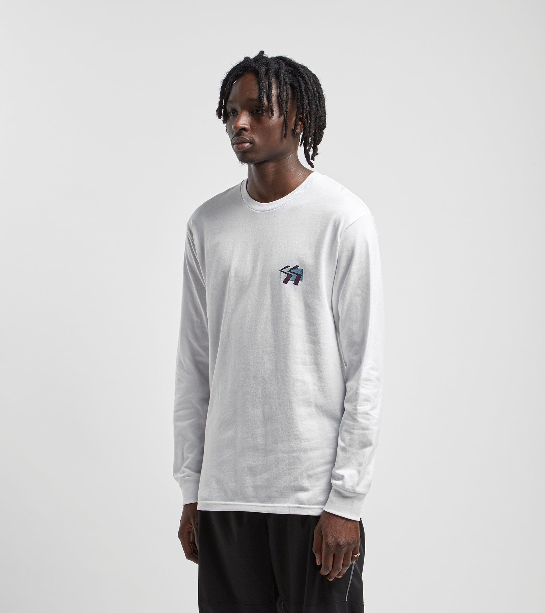 Stussy Long-Sleeved Cube T-Shirt