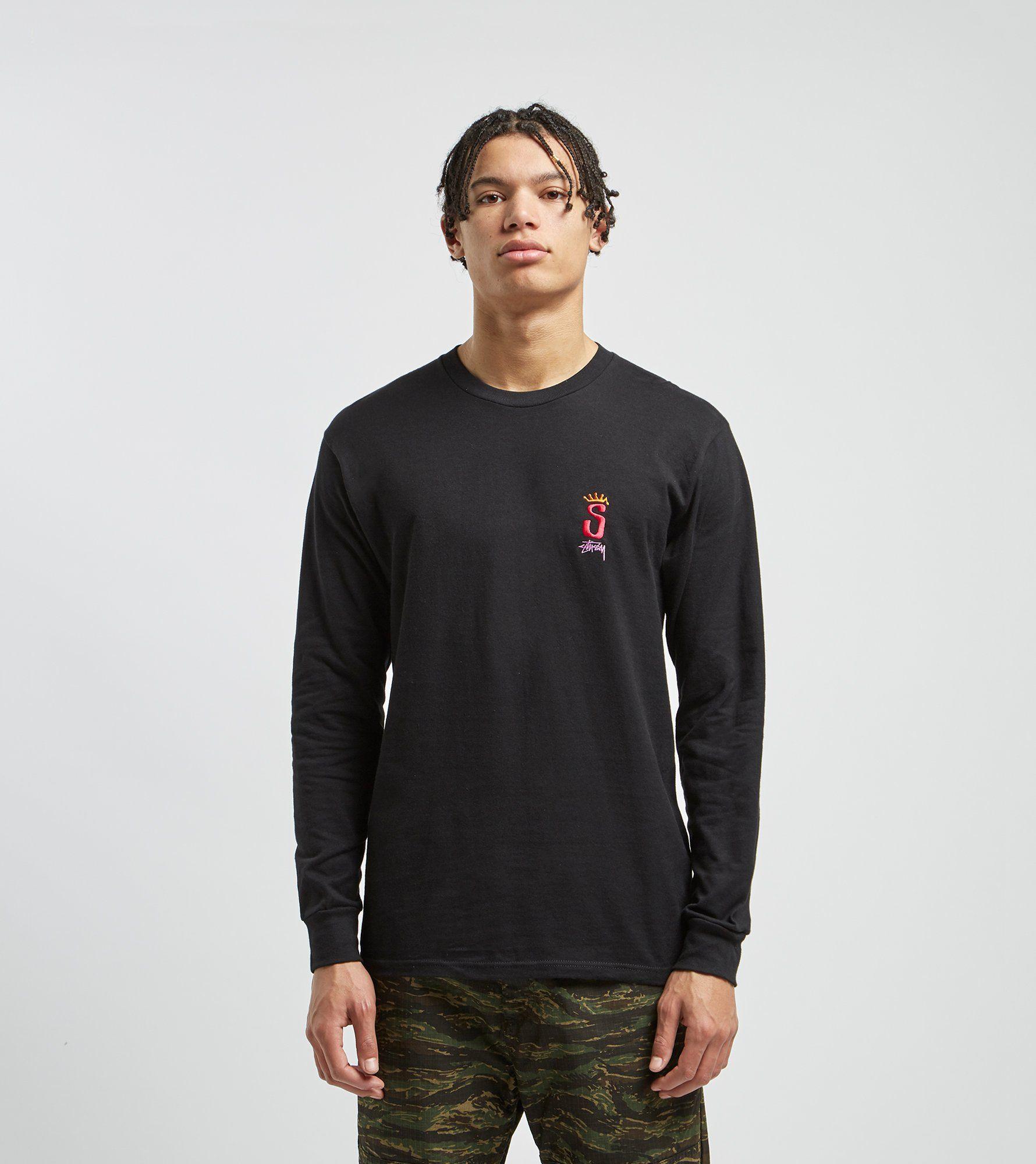 Stussy Crown Long Sleeved T-Shirt