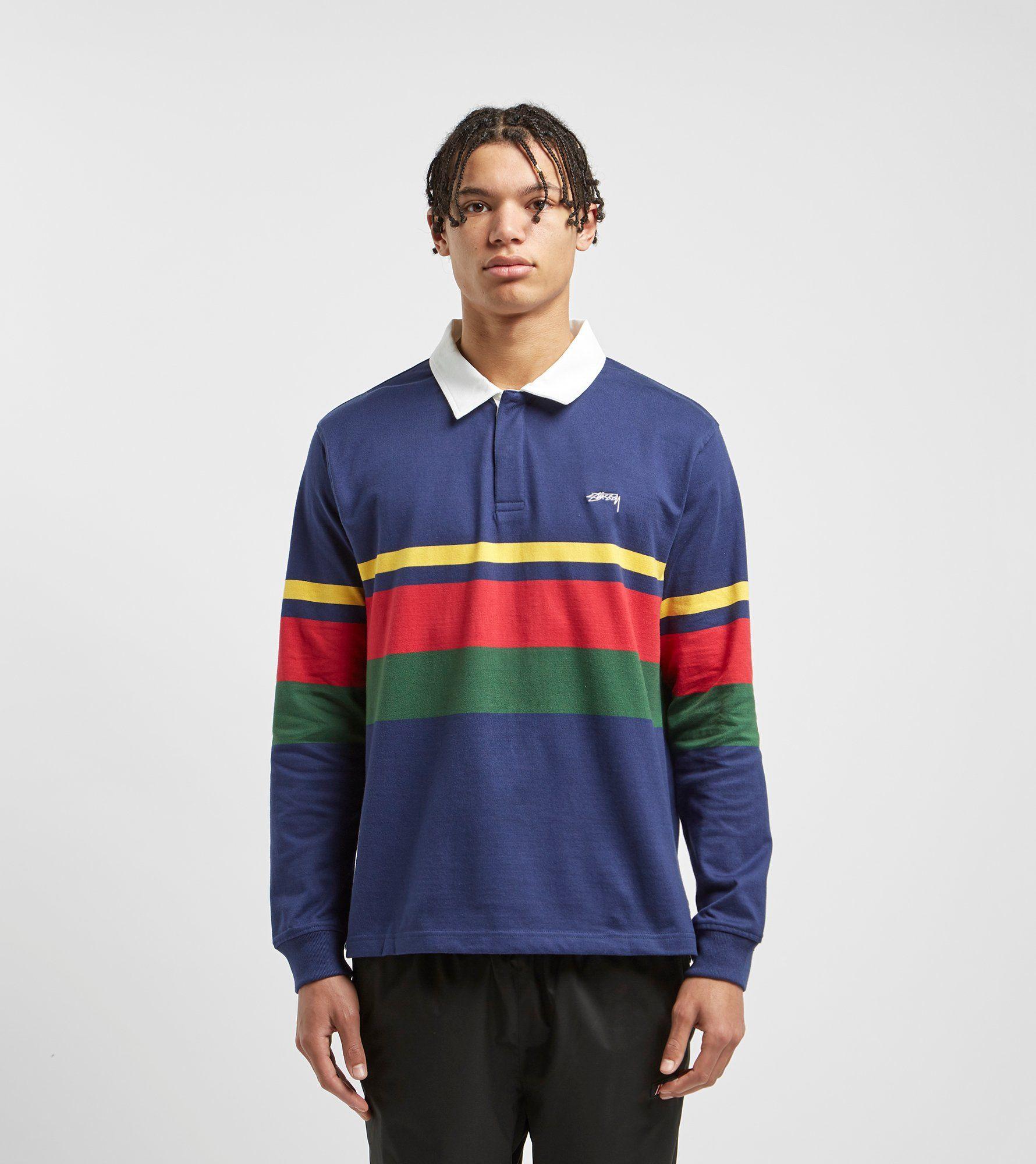 Stussy Lucas Stripe Rugby Shirt