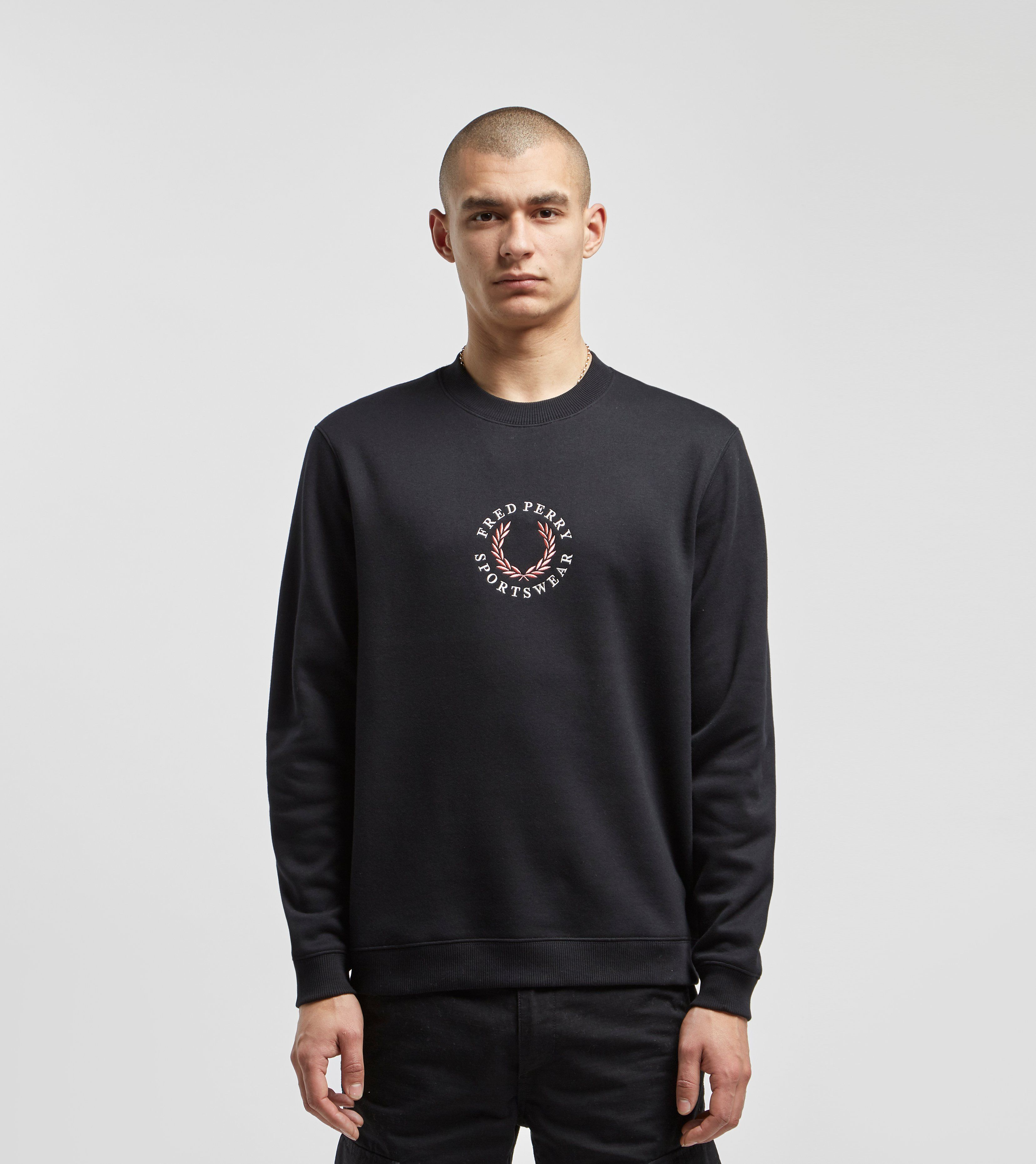 Fred Perry Global Branded Sweatshirt