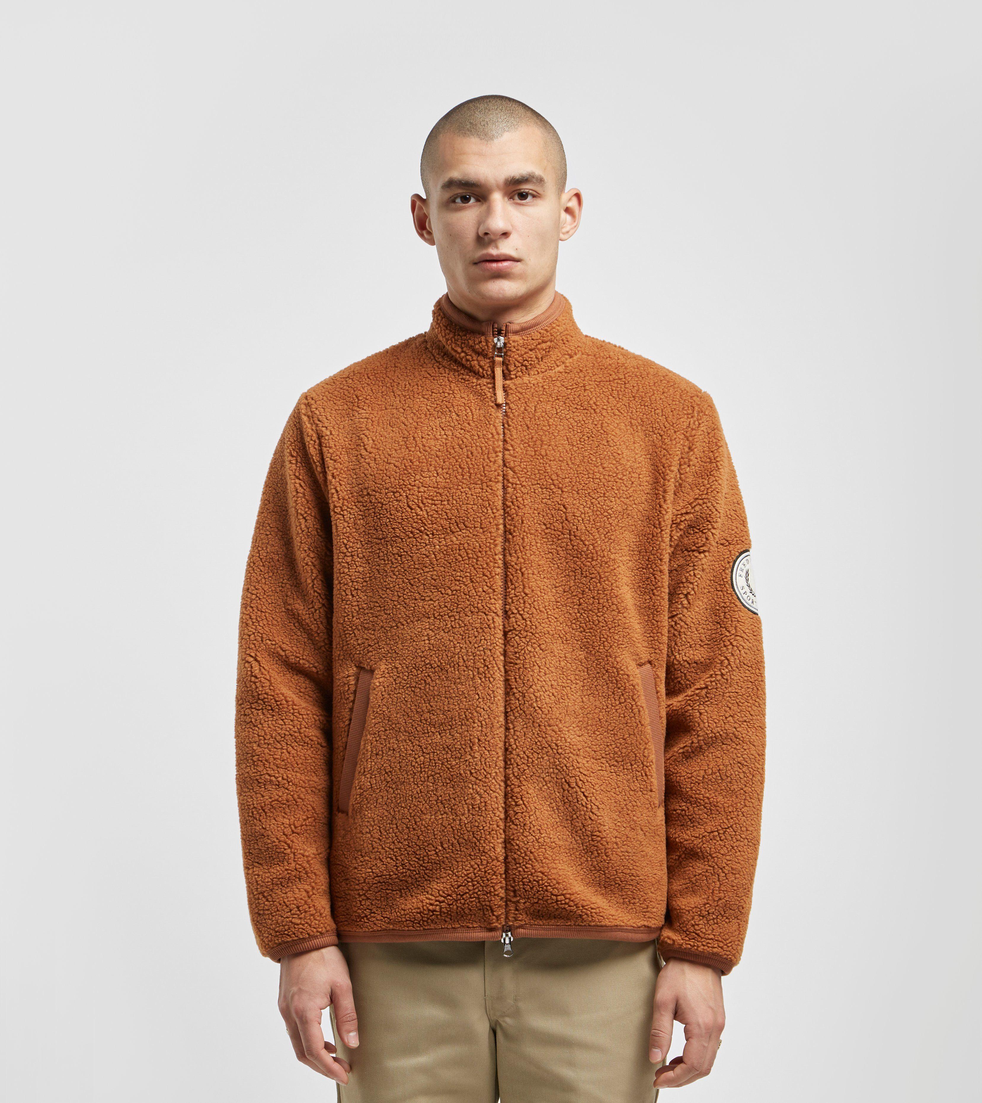 Fred Perry Borg Full Zip Fleece Jacket