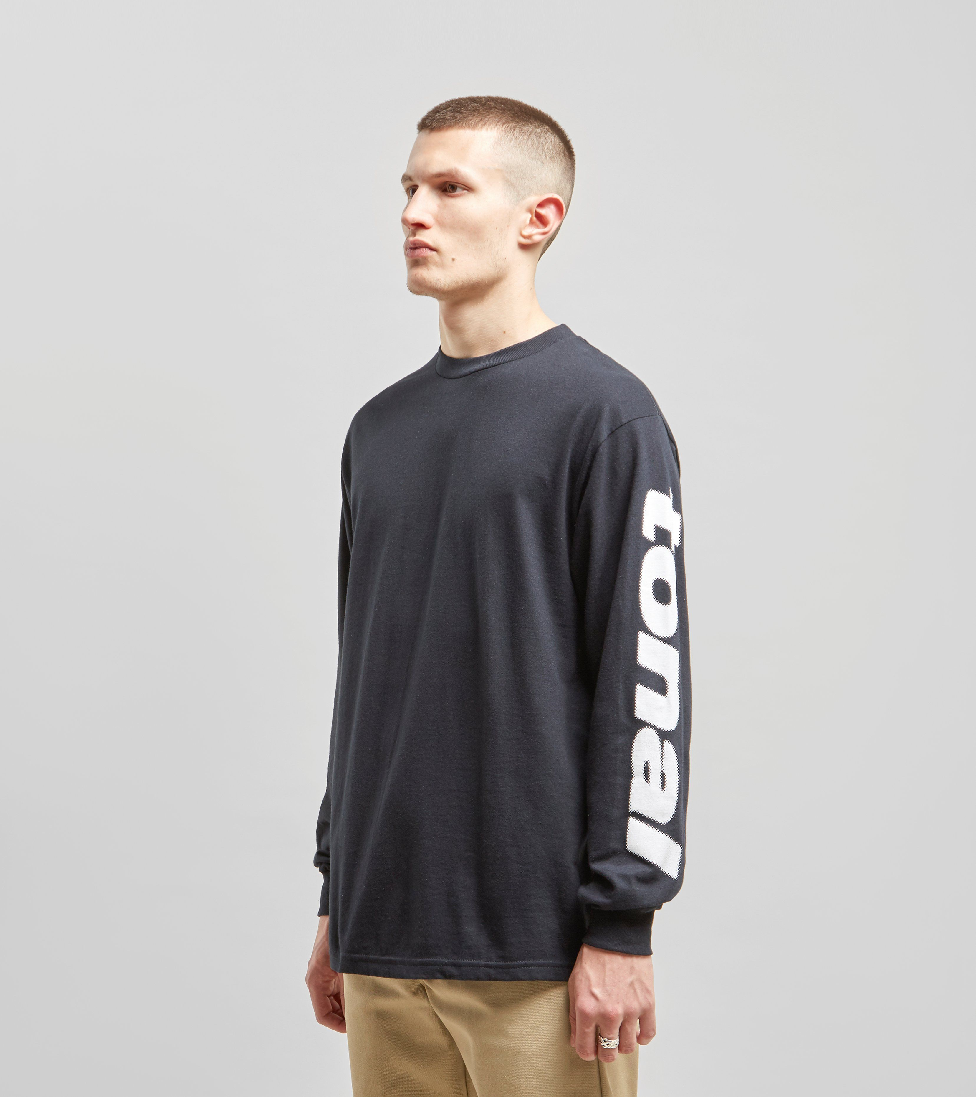 Tonal Cyrillic Long Sleeve T-Shirt
