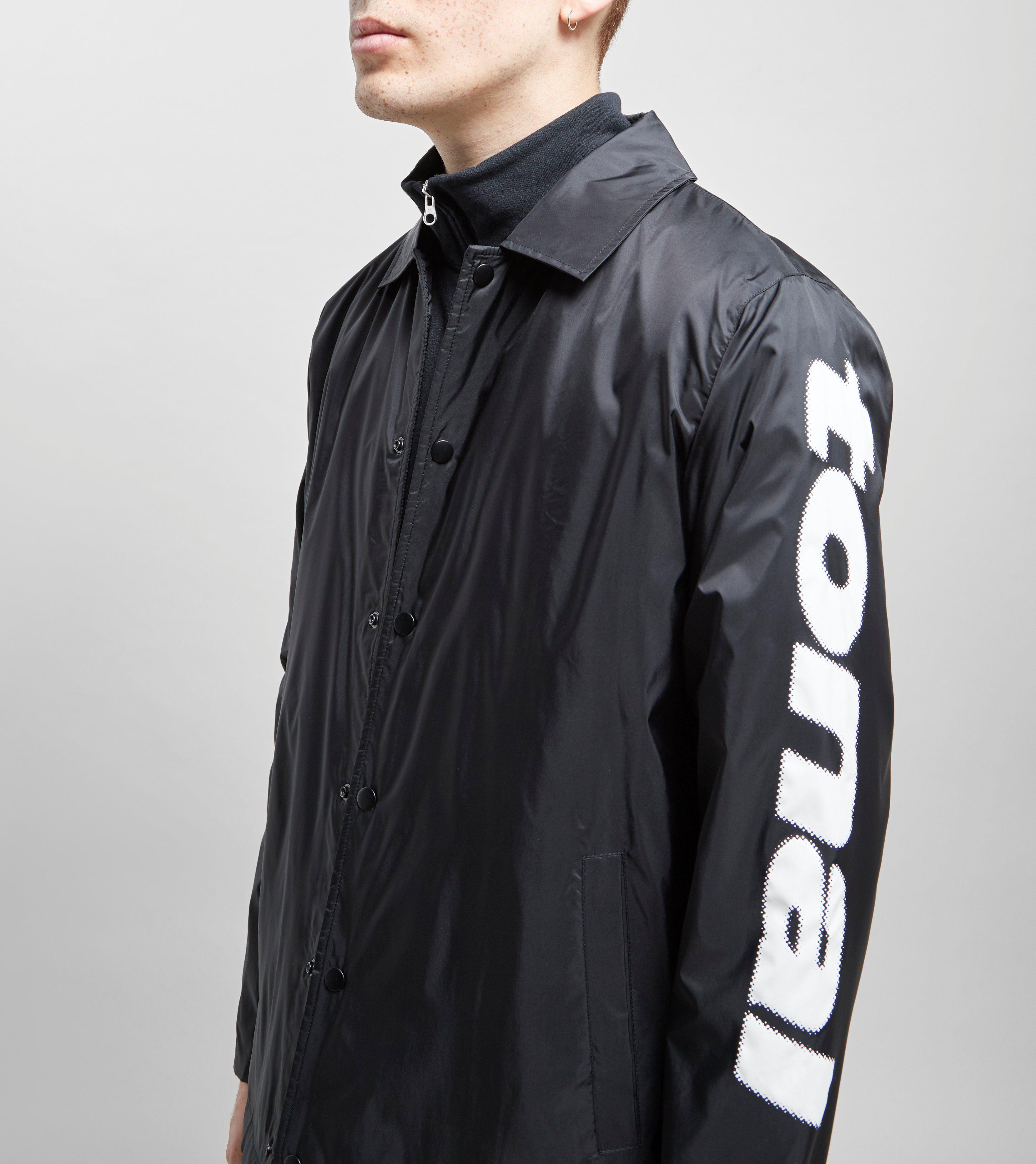 Tonal Cyrillic Coach Jacket