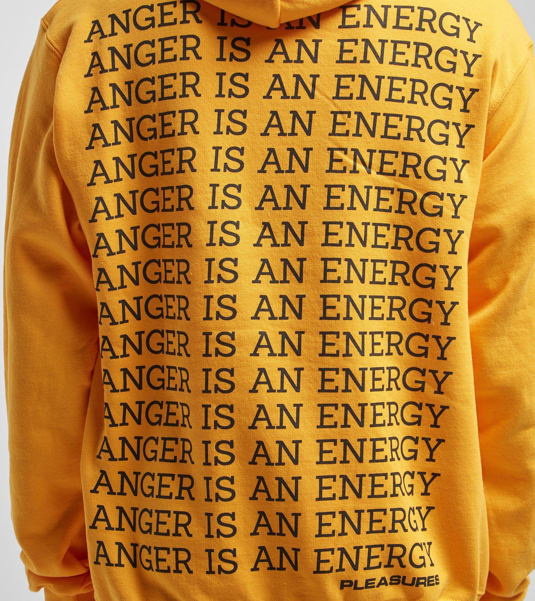 PLEASURES Anger Overhead Hoody - size? Exclusive
