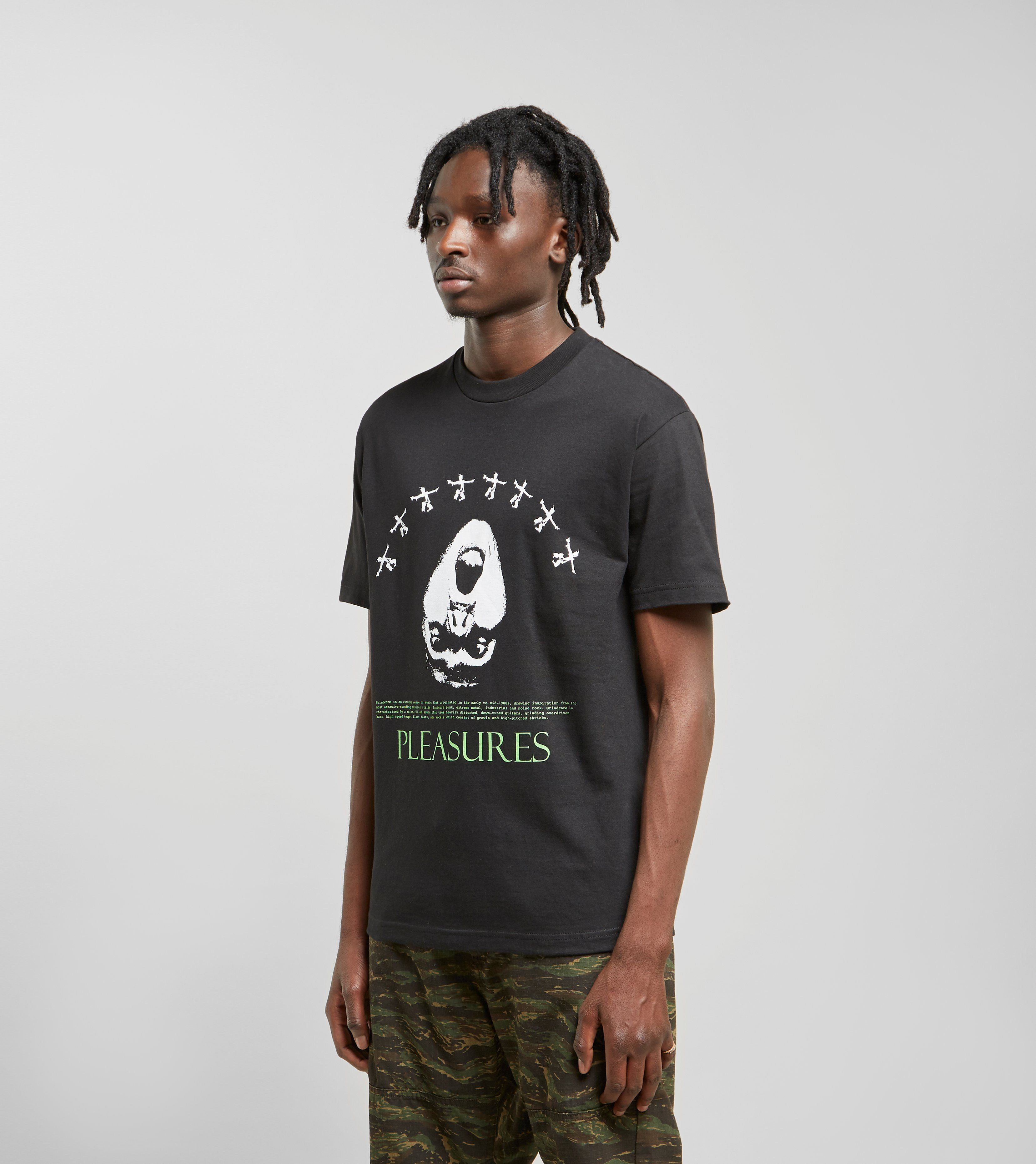 PLEASURES Grindcore T-Shirt