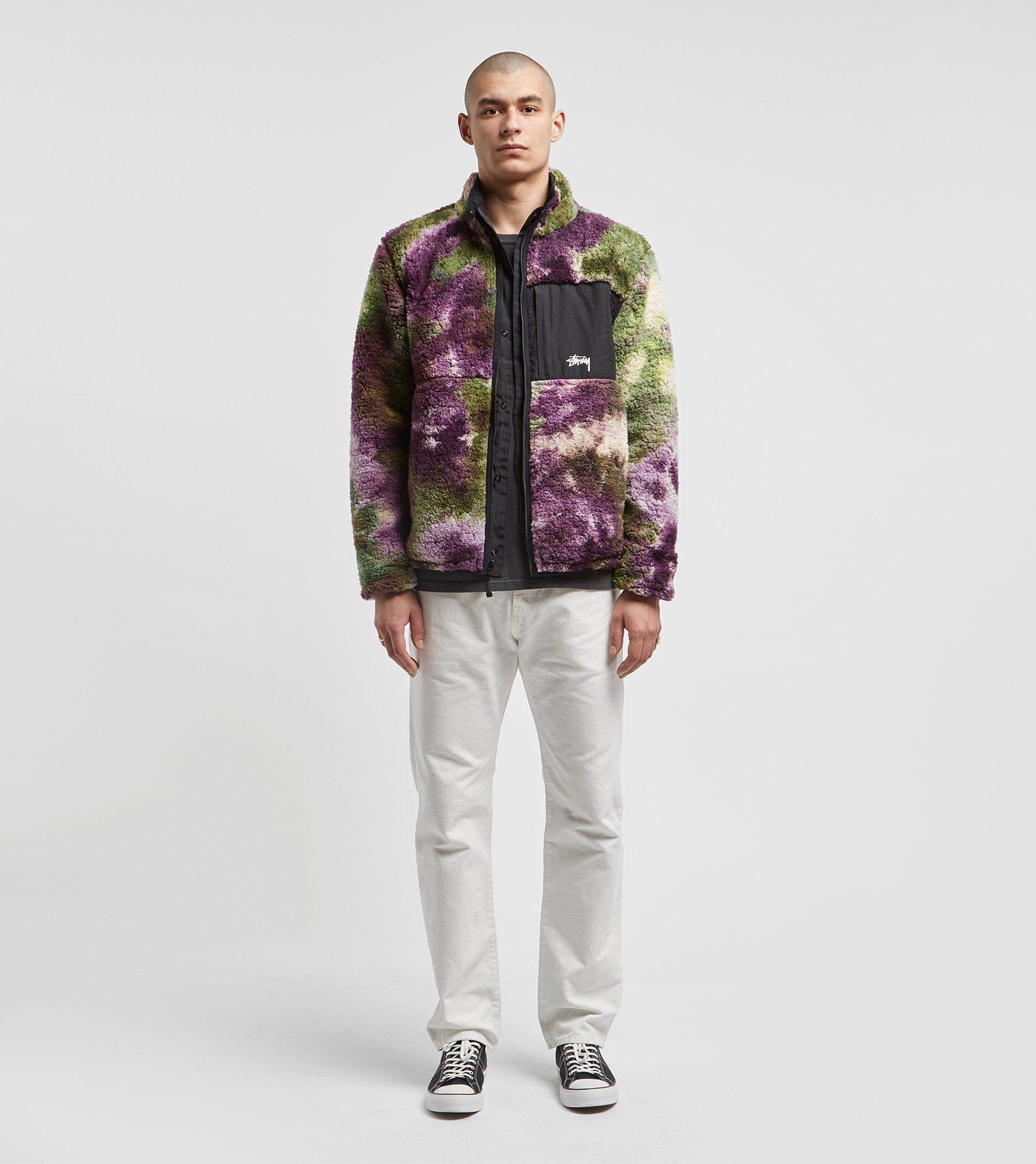 Stussy Reversible Micro Fleece Jacket