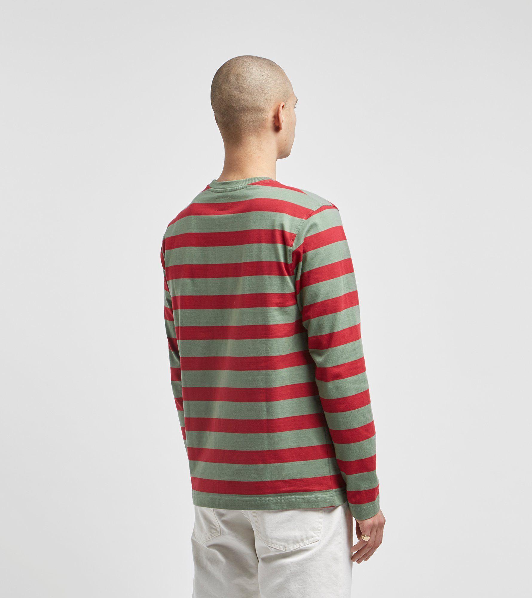 Stussy Malcolm Stripe Long Sleeve T-Shirt