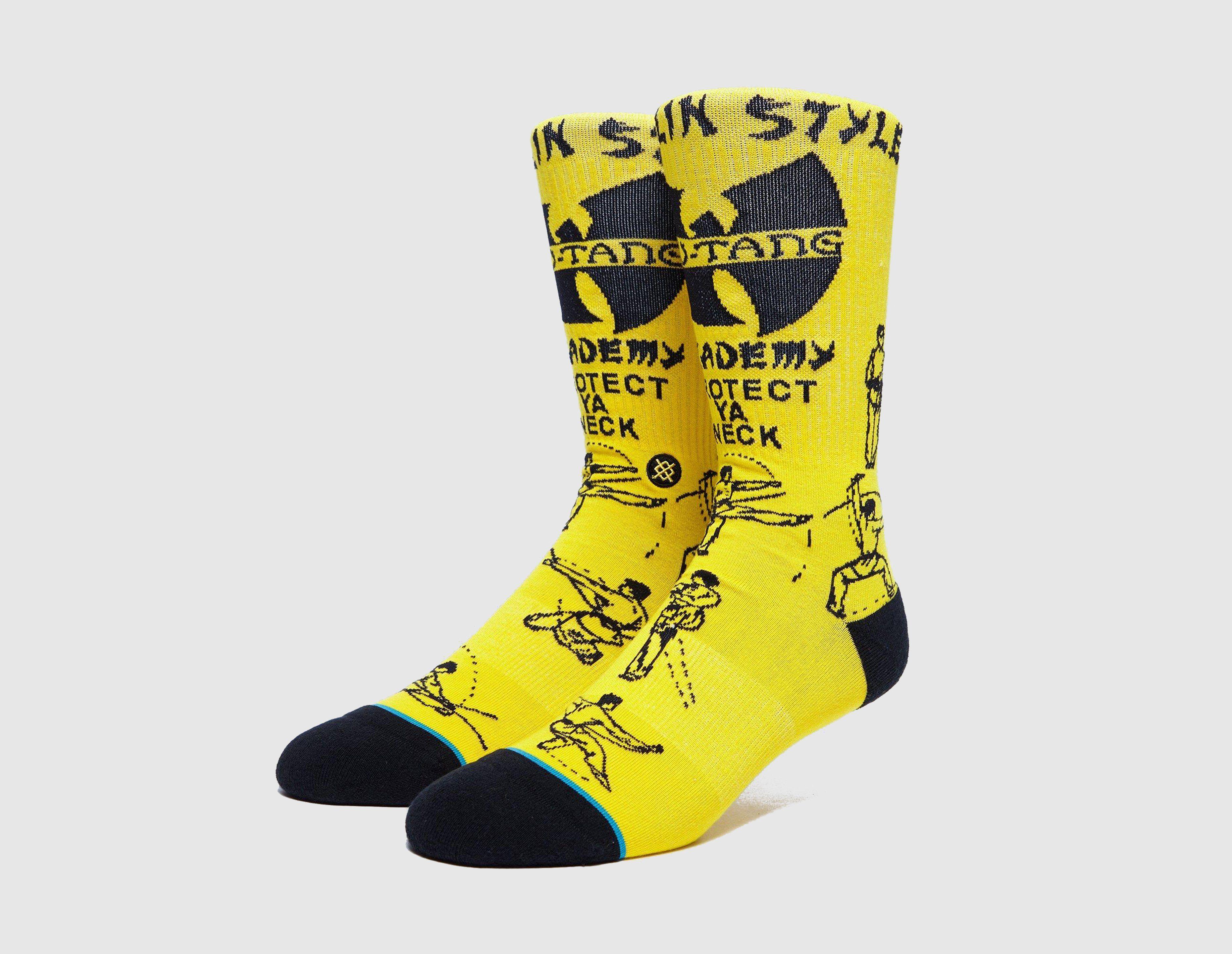 Stance Wu Tang Clan 'Protect Ya Neck' Sock