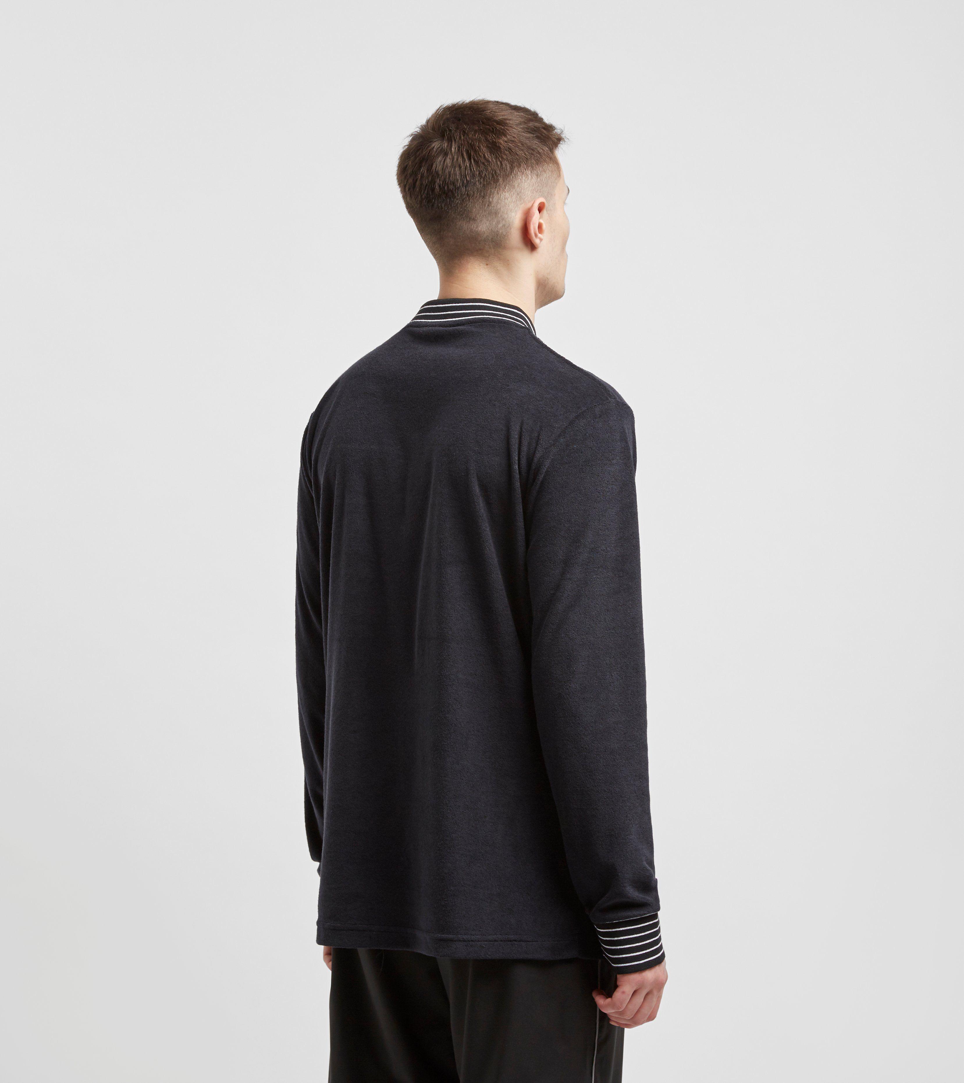 PLEASURES Fuzzy Long Sleeve T-Shirt