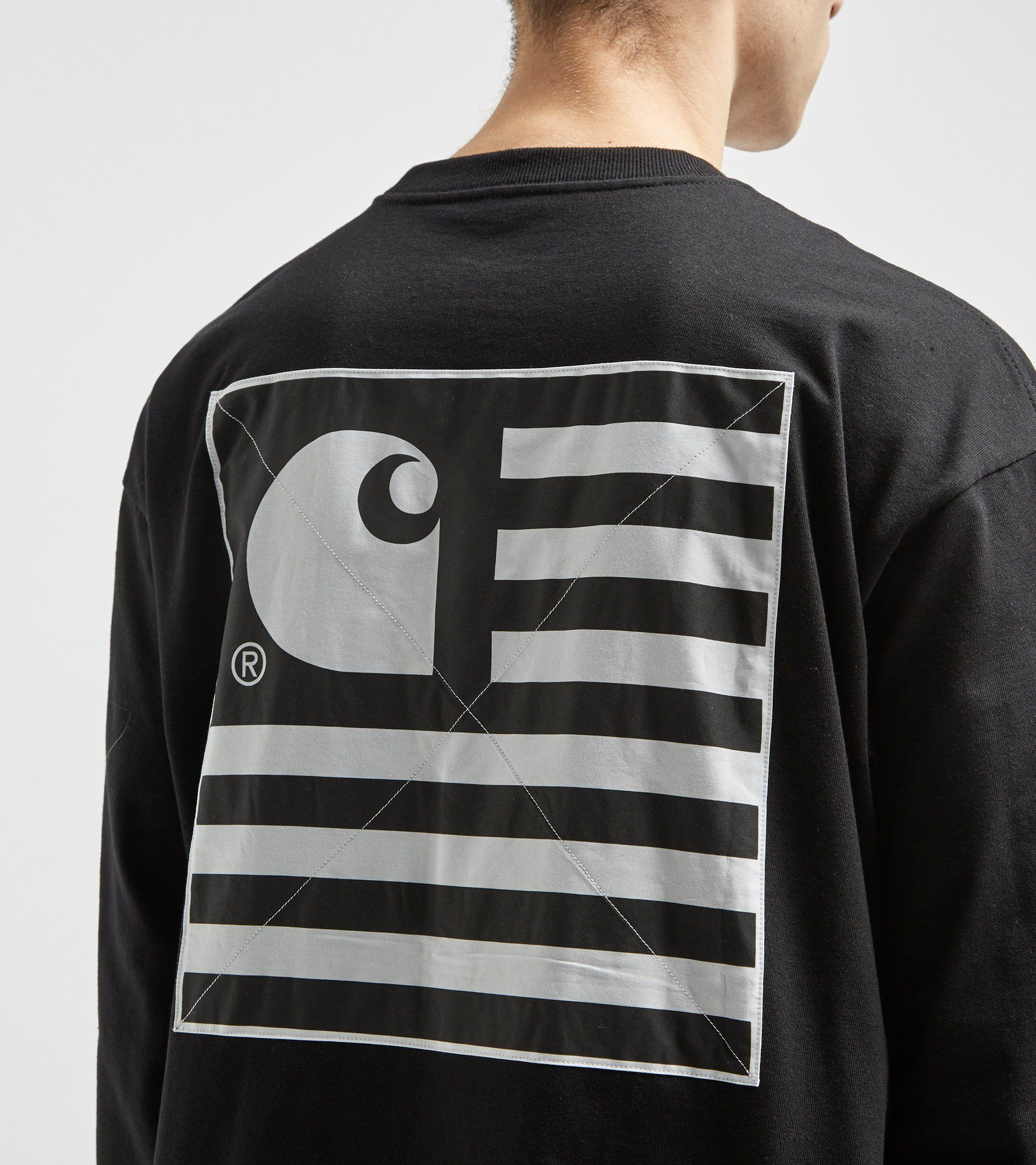Carhartt WIP State Patch Long Sleeve T-Shirt