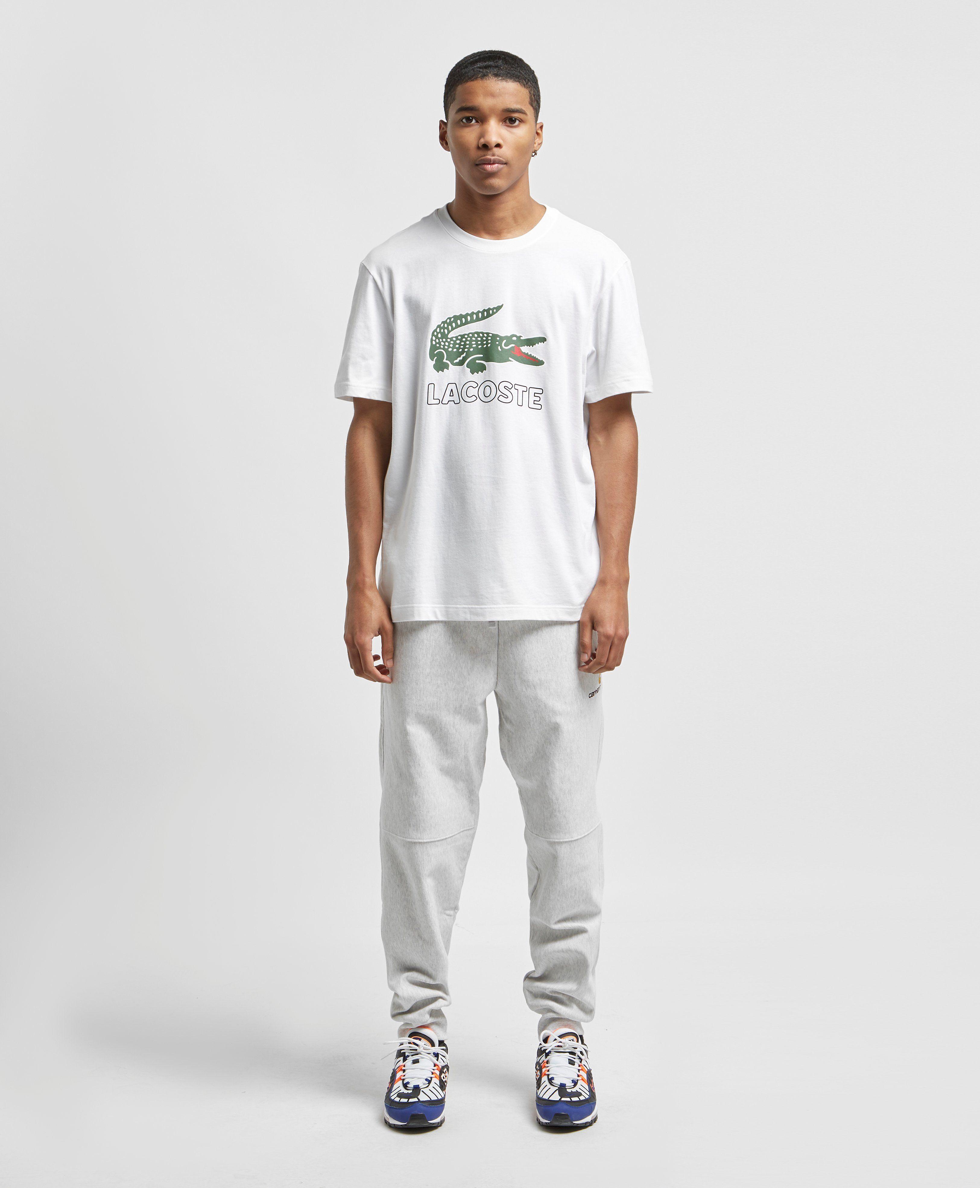 Lacoste Large Crocodile Logo Vintage T-Shirt