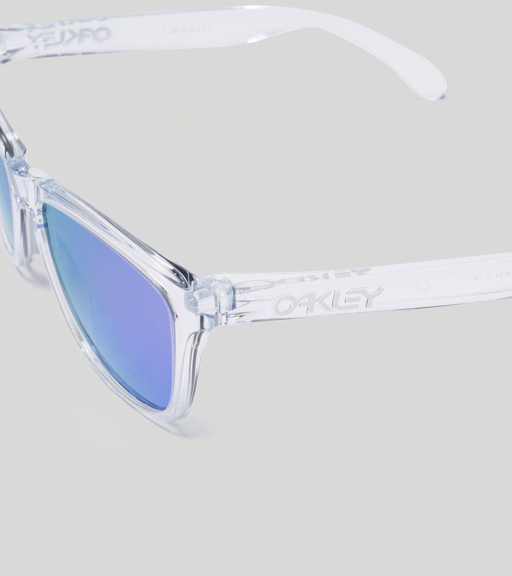 Oakley Frogskin Crystal Clear Sunglasses