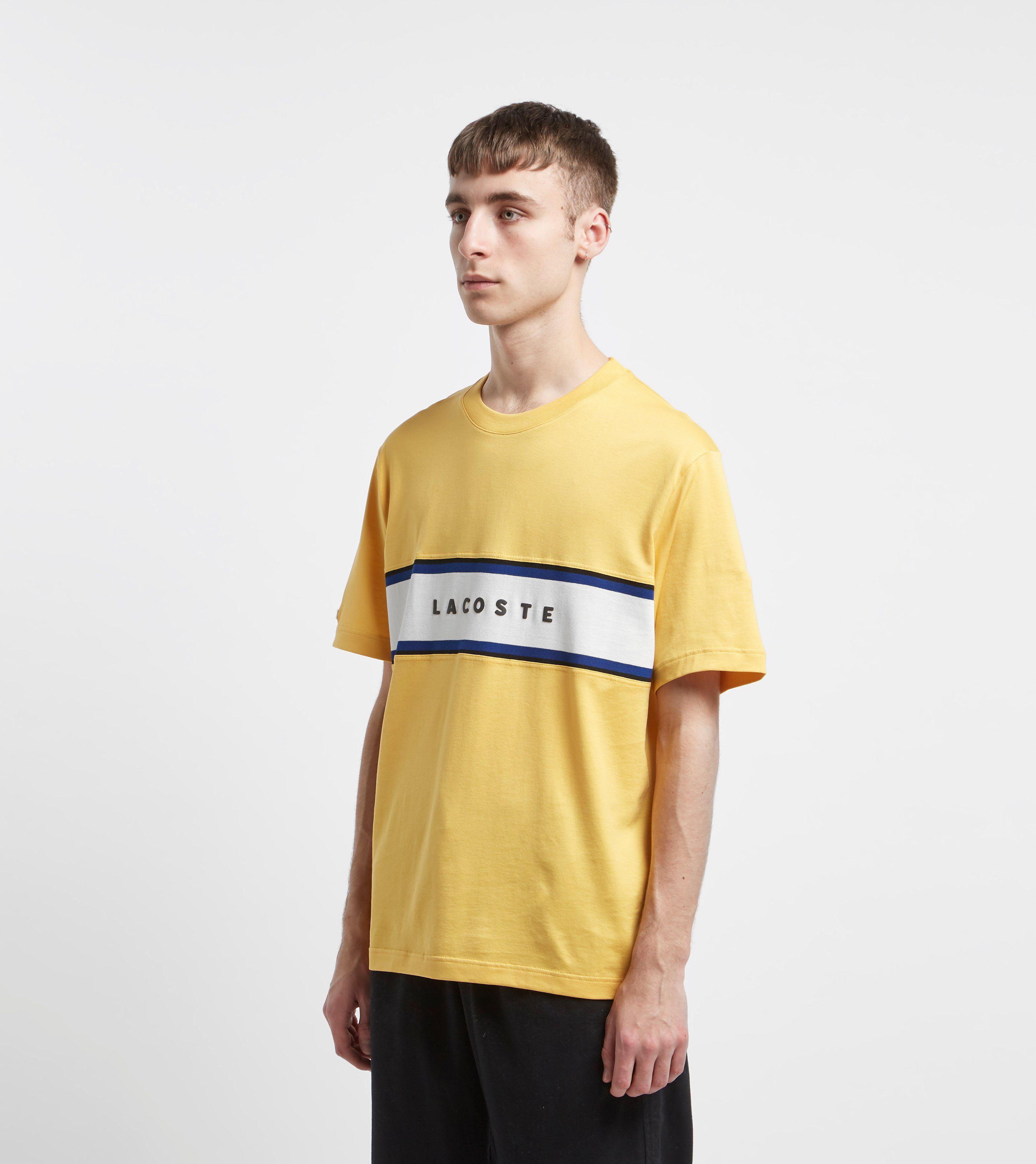 Lacoste Block Logo T-Shirt