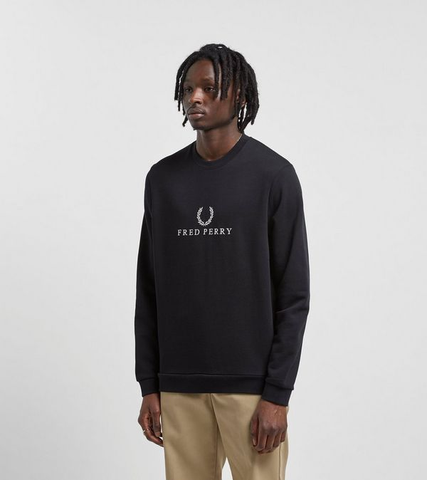 eabdd1b18996 Fred Perry Embroidered Sweatshirt