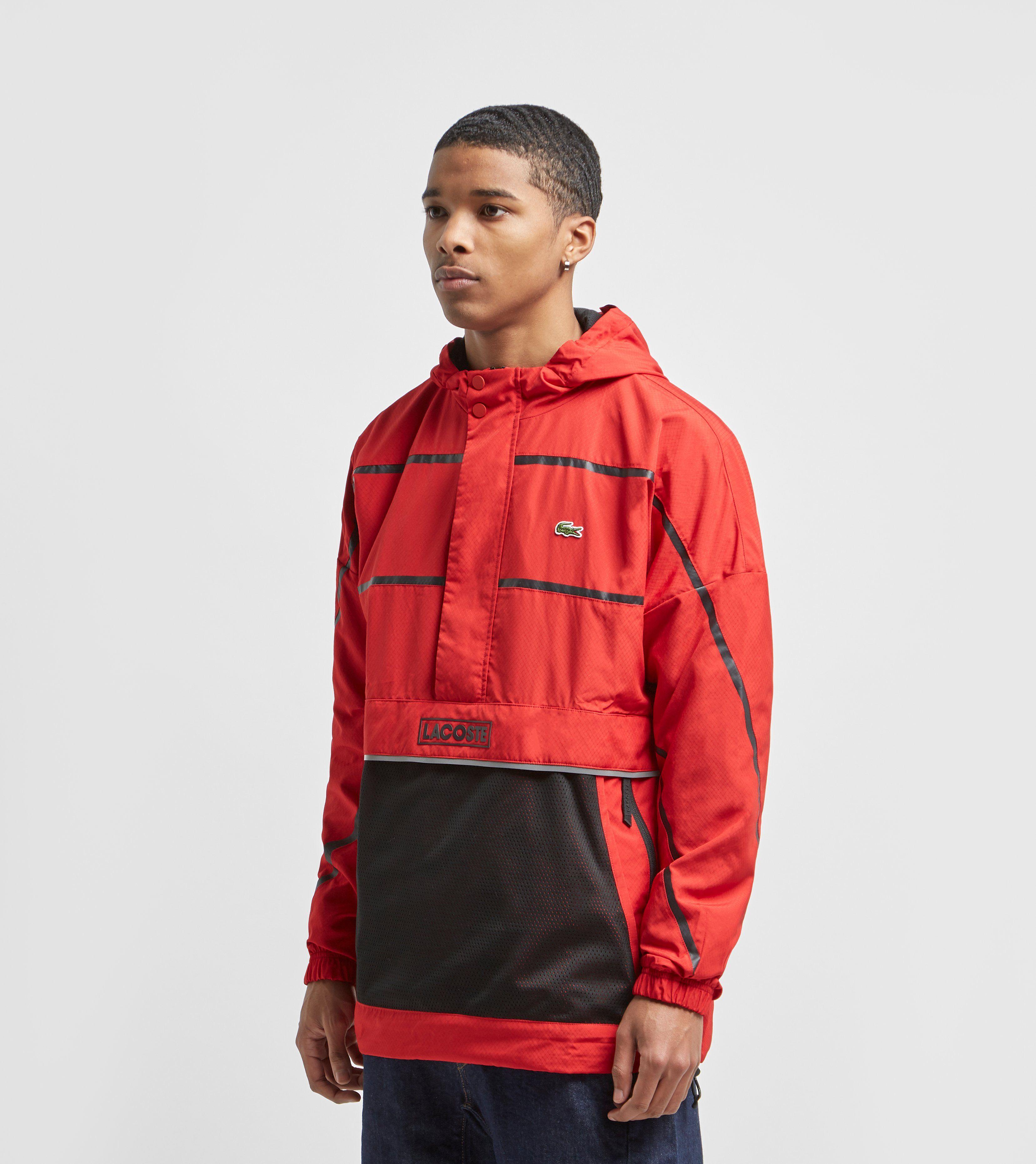 Lacoste Half-Zip Pullover Jacket
