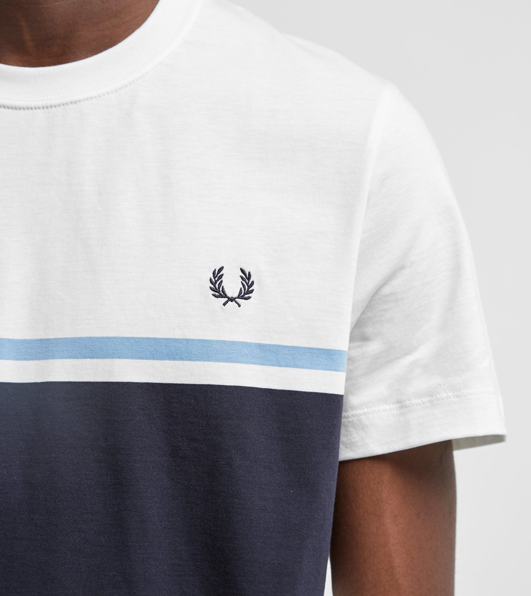 Fred Perry Colour Block Short Sleeve T-Shirt