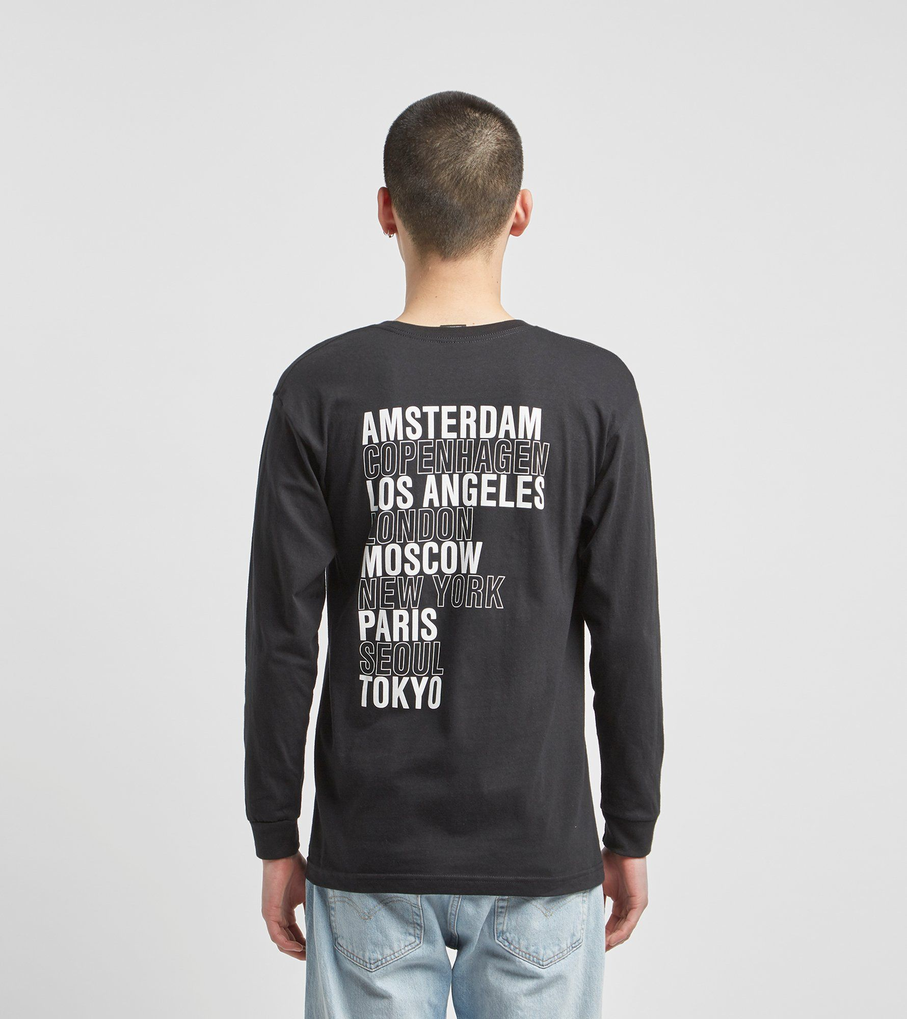 Obey Intl. Cities Long Sleeve T-Shirt