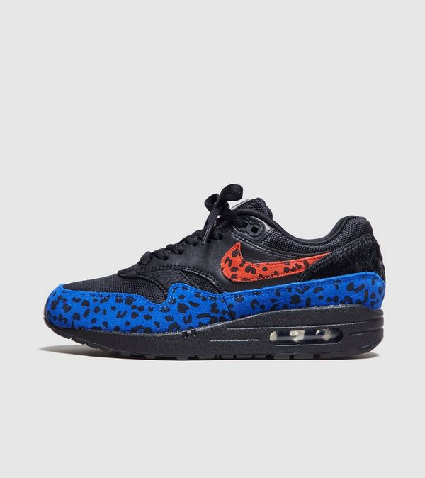 check out c4bfb 03050 Nike Air Max 1 Premium Black Leopard Womens