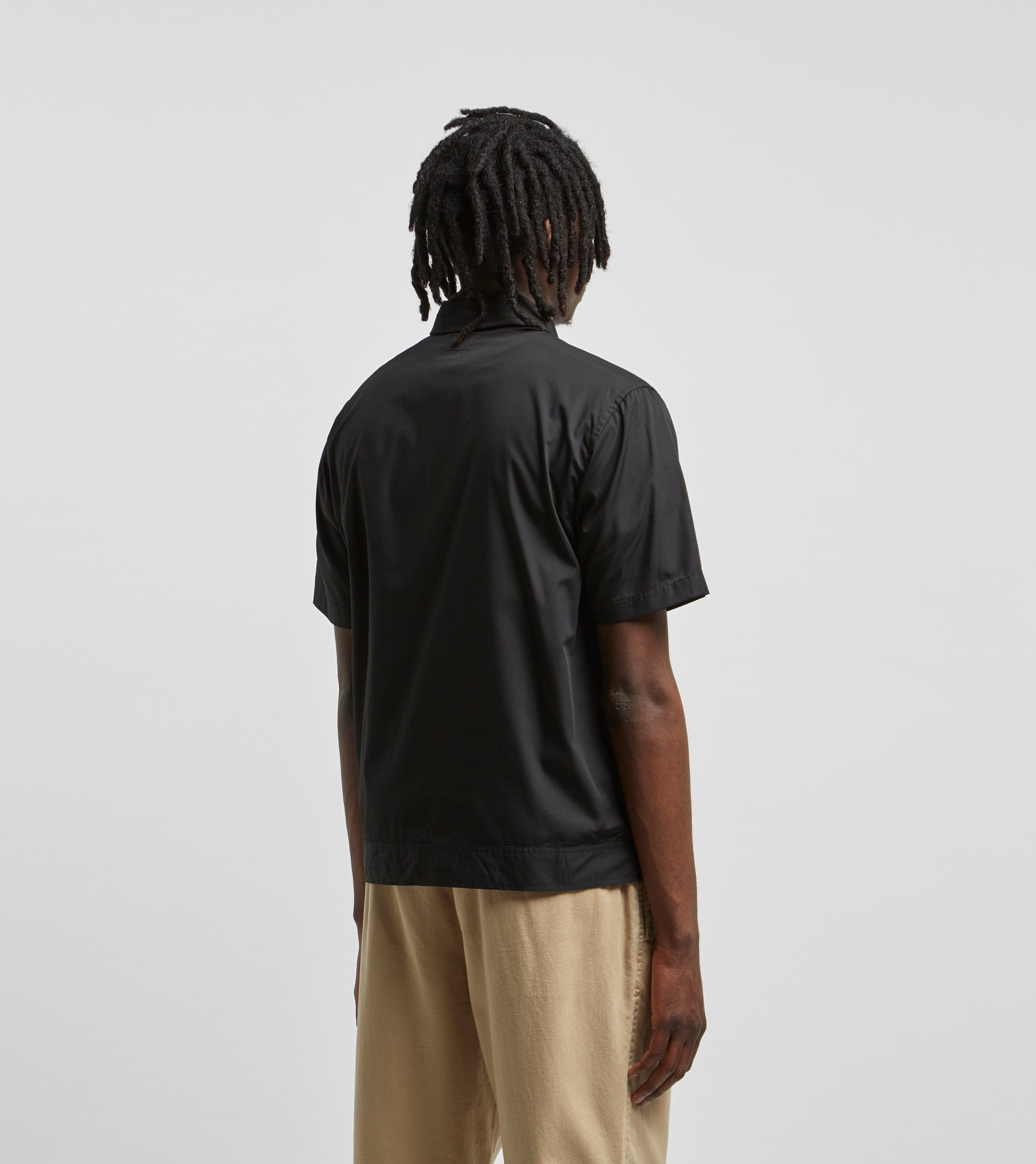 Stussy Short Sleeved Zip Up Work Shirt