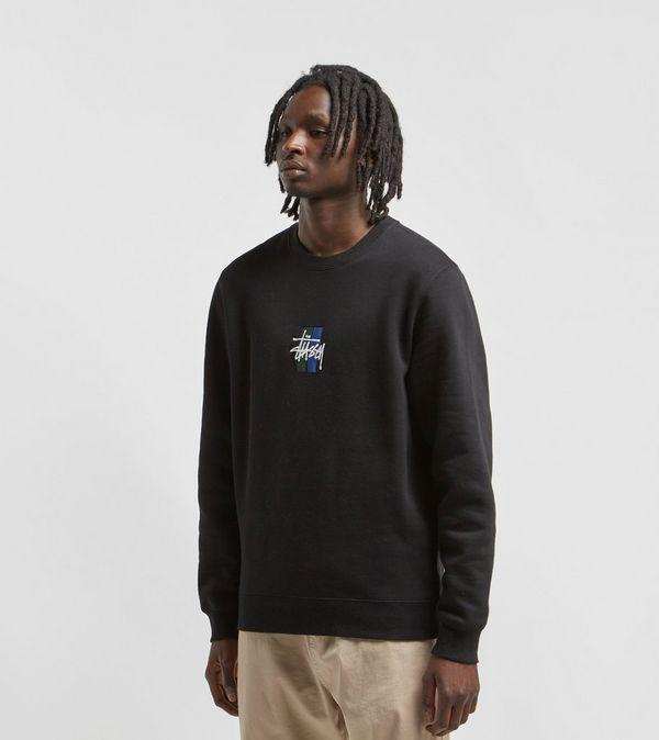 466d3b36554 Stussy 2 Bar Stock Crewneck Sweatshirt