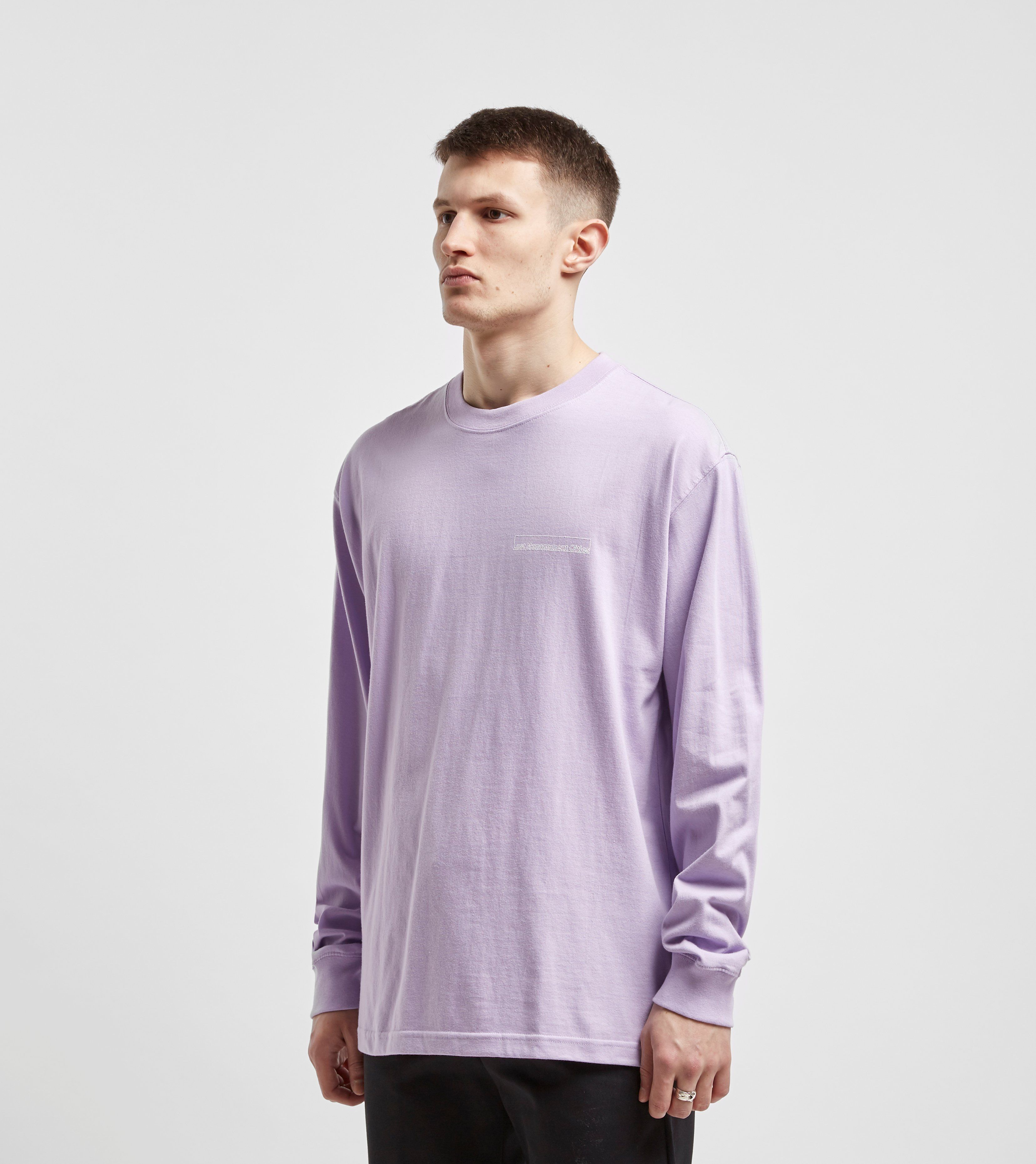 Lost Management Cities Box Logo Long Sleeve T-Shirt
