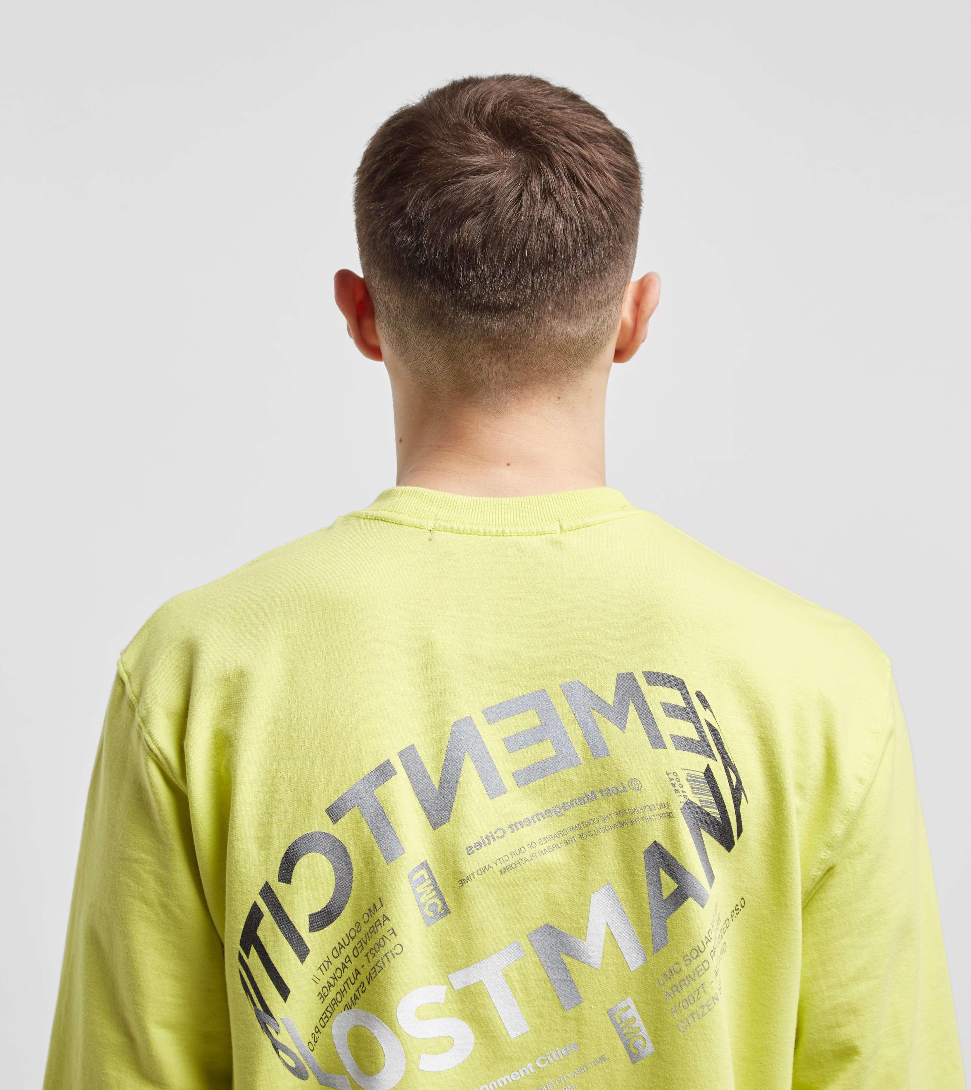 Lost Management Cities Lent Logo Long Sleeve T-Shirt