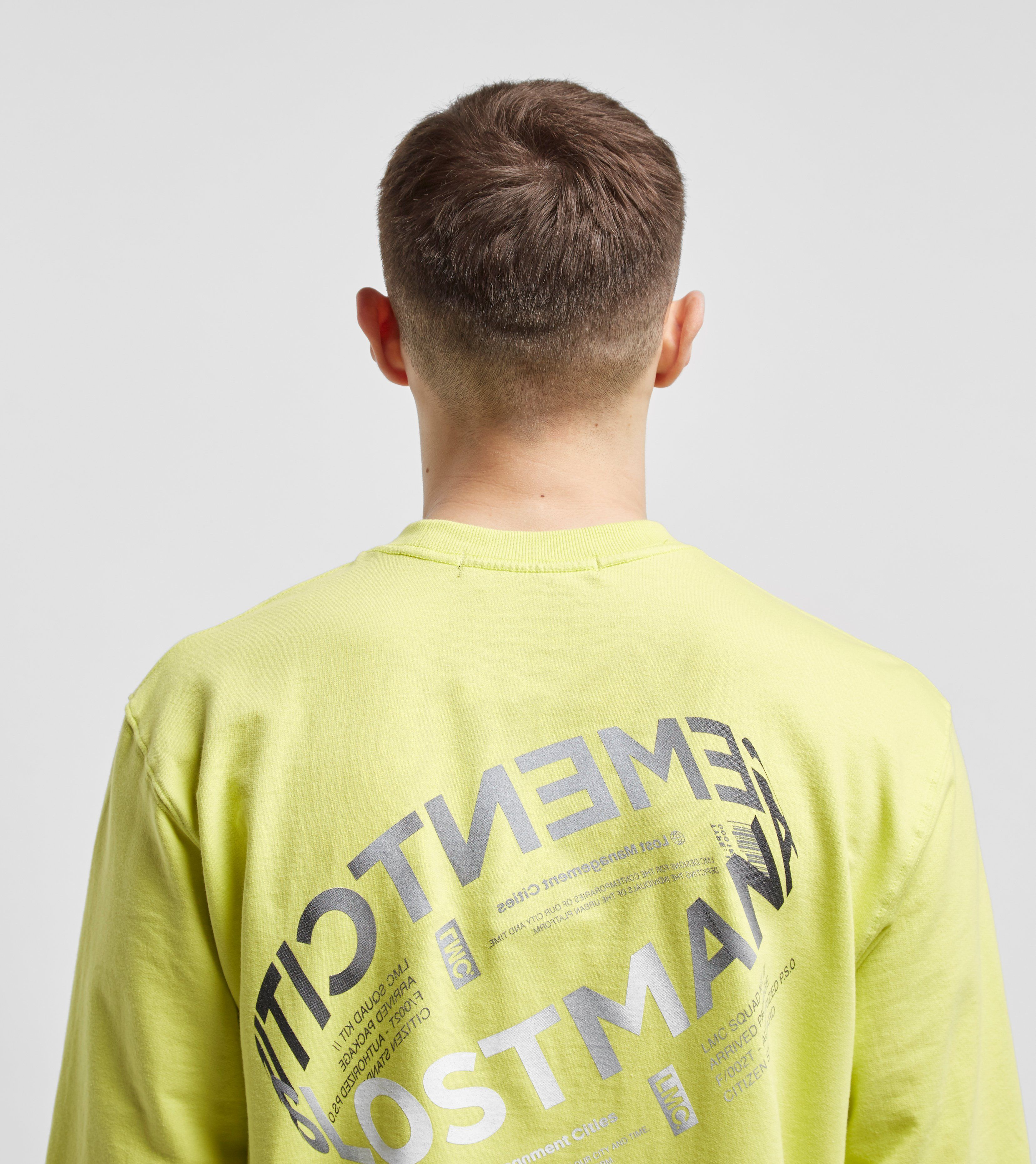 Lost Management Cities Lent Logo Long Sleeve T-Shirt