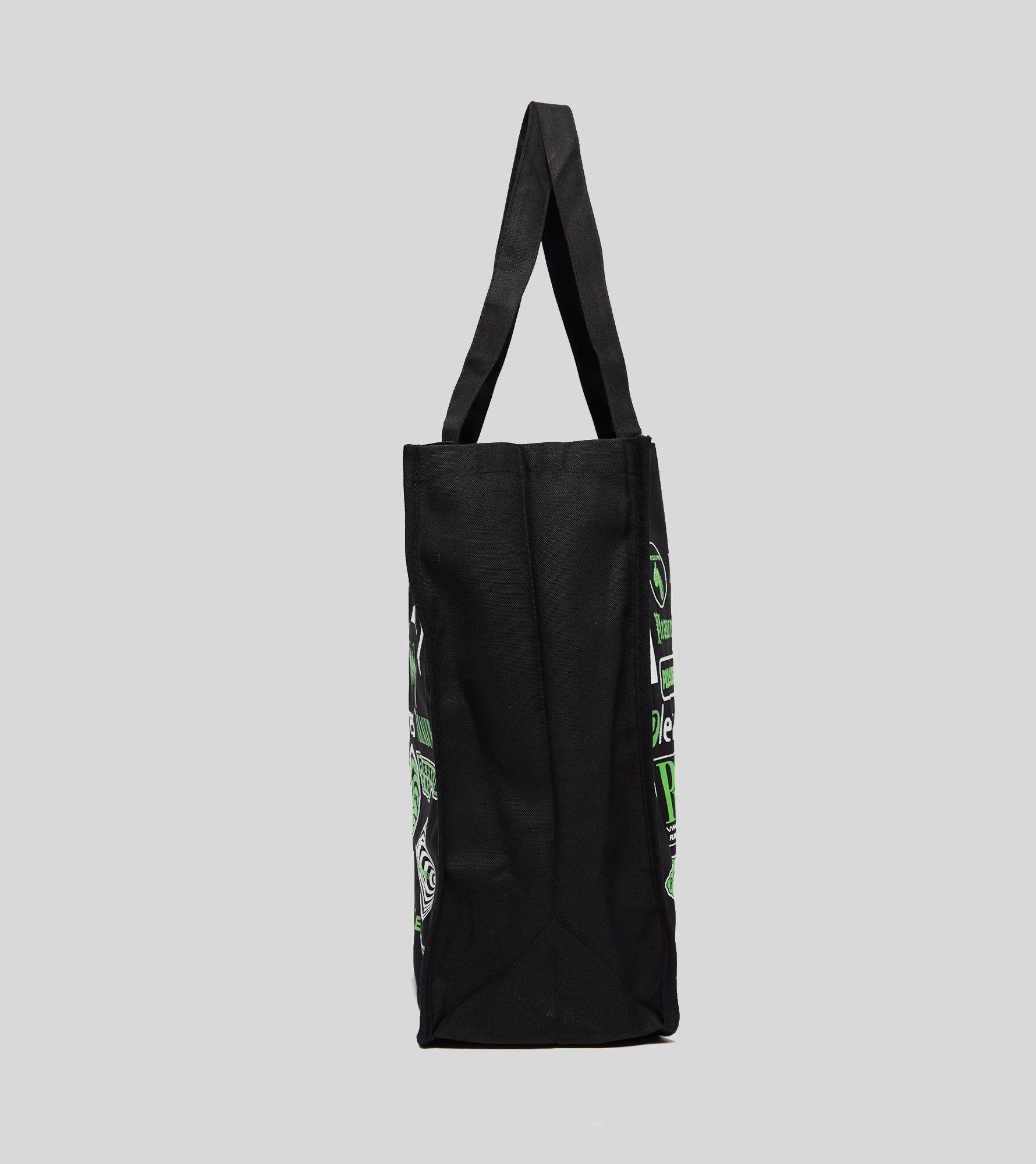 PLEASURES Logorama Tote Bag