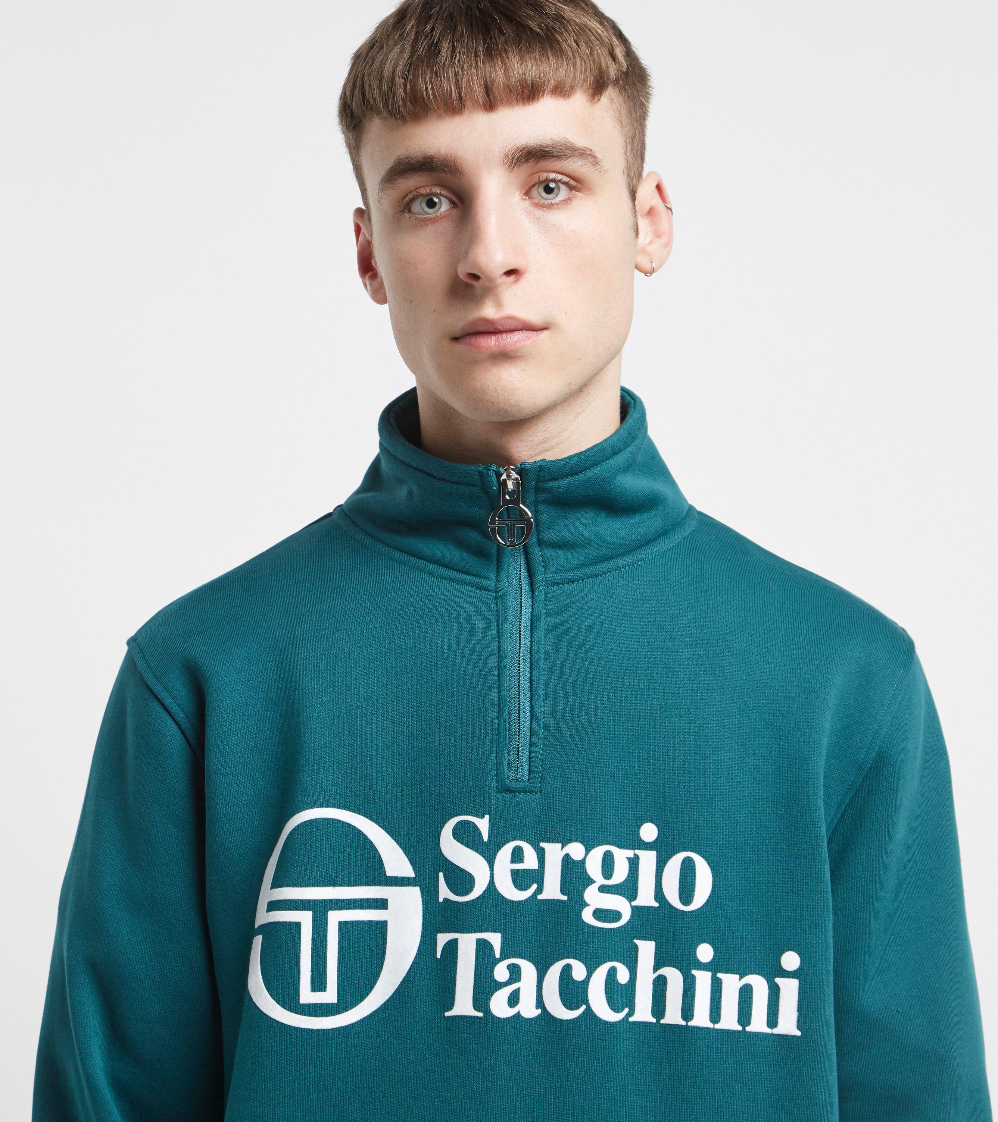Sergio Tacchini Mats Half Zip Sweatshirt