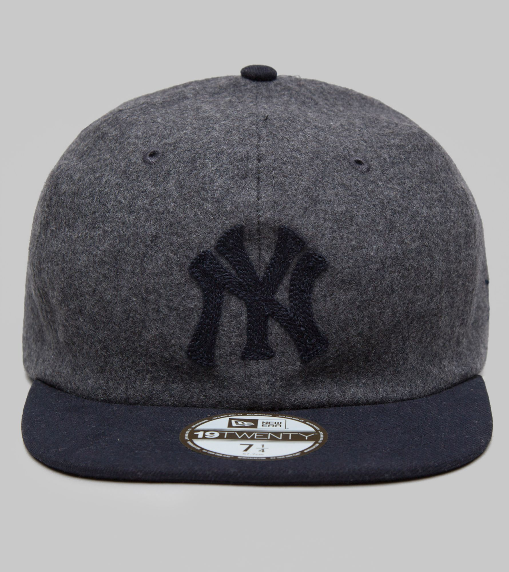 89a9624e ... norway new era 1920s melton wool yankees fitted cap a9193 e0cee
