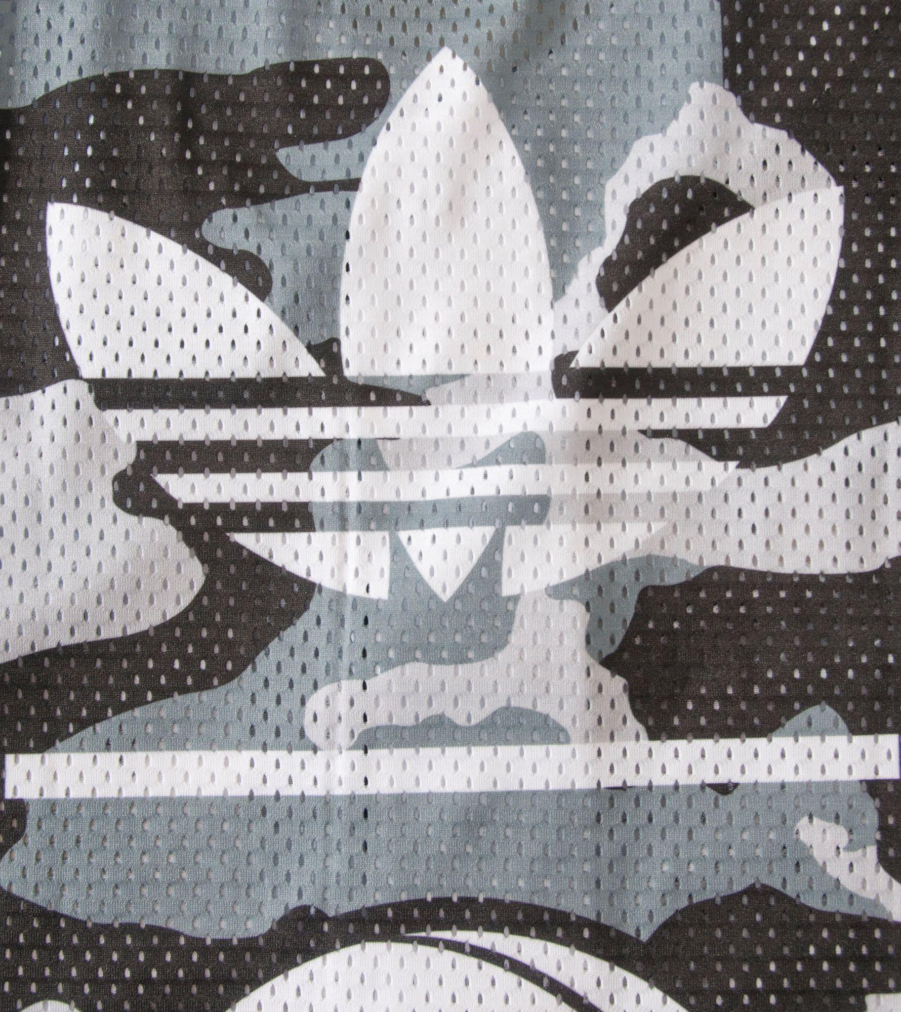 adidas Originals Brooklyn Nets Baseball Shirt
