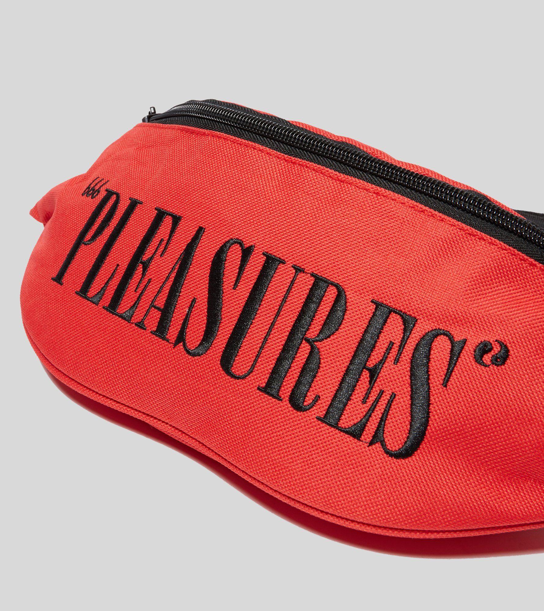 PLEASURES Logo Wait Bag