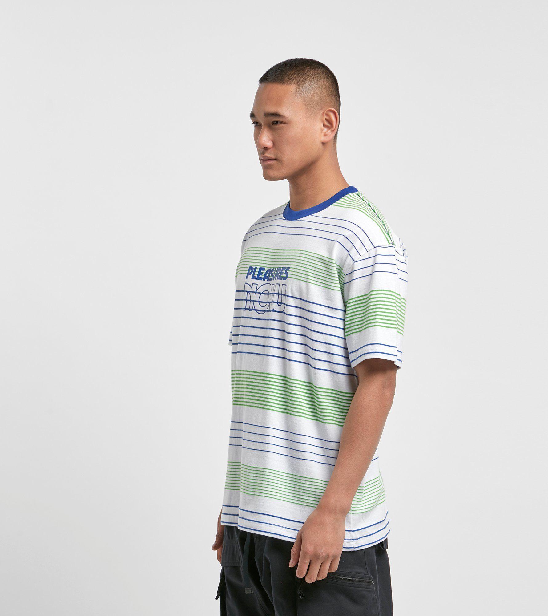PLEASURES Feedback Stripe T-shirt