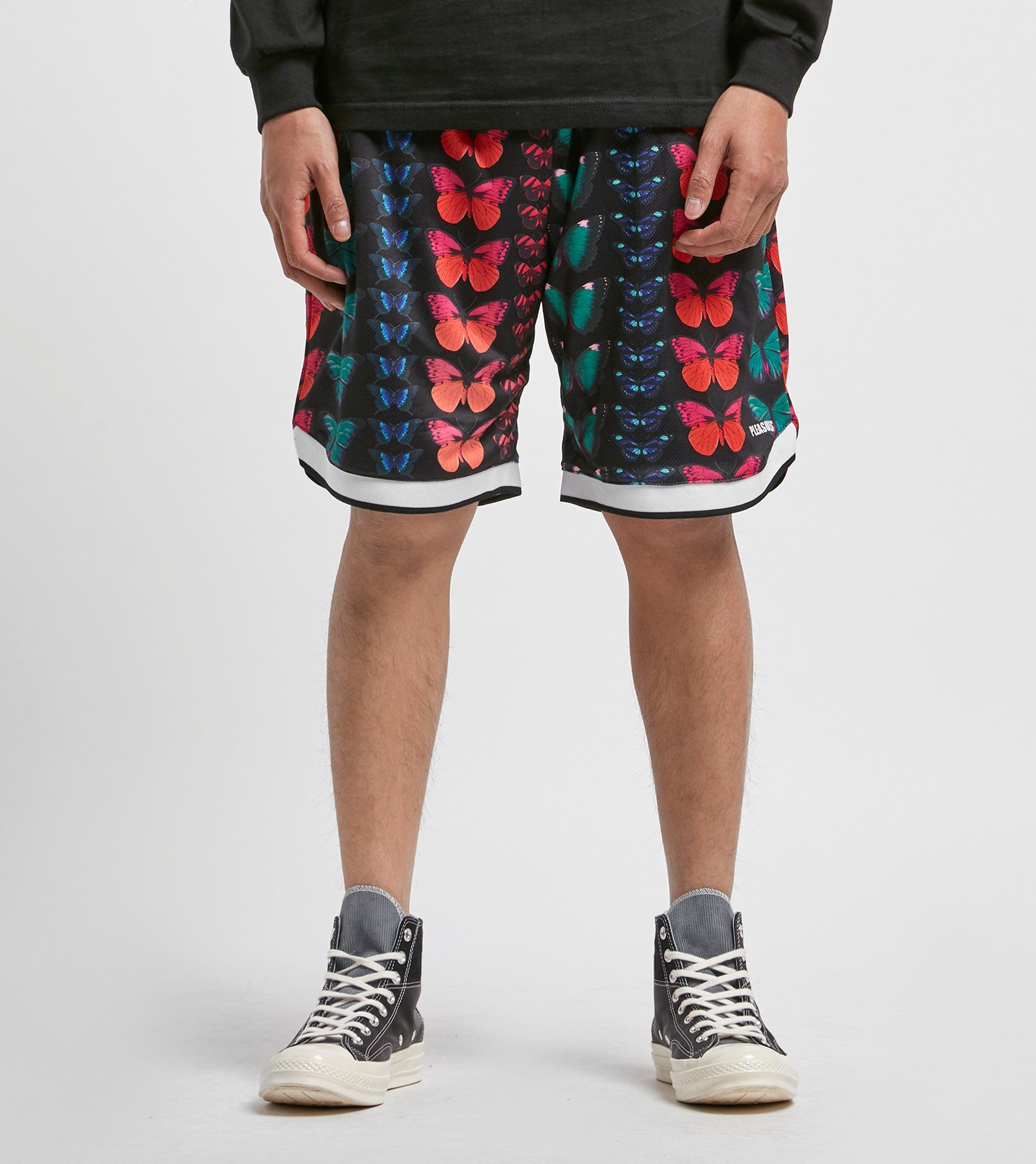 PLEASURES Butterfly Shorts