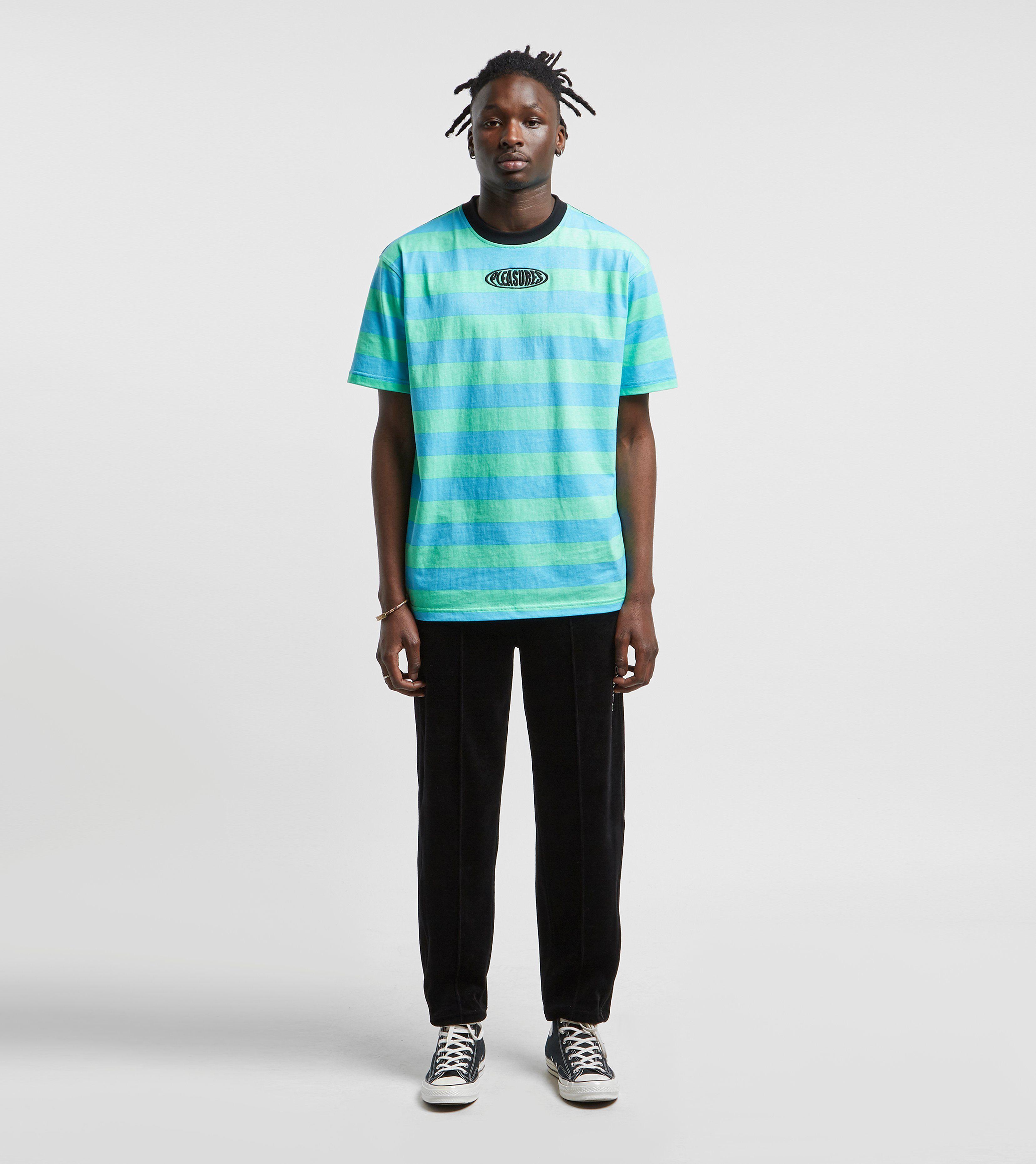 PLEASURES Pop Stripe T-Shirt