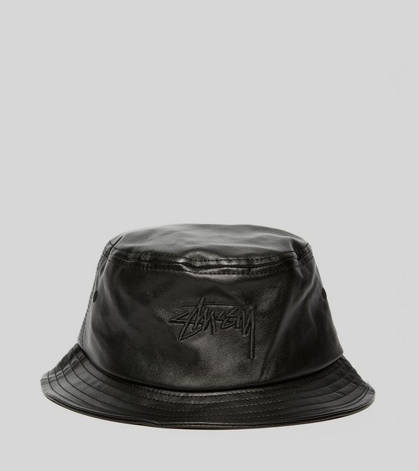 Stussy Stock Leather Bucket Hat | Size?
