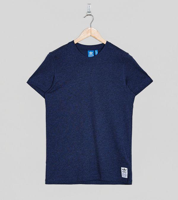Adidas originals premium basic plain t shirt size for Premium plain t shirts