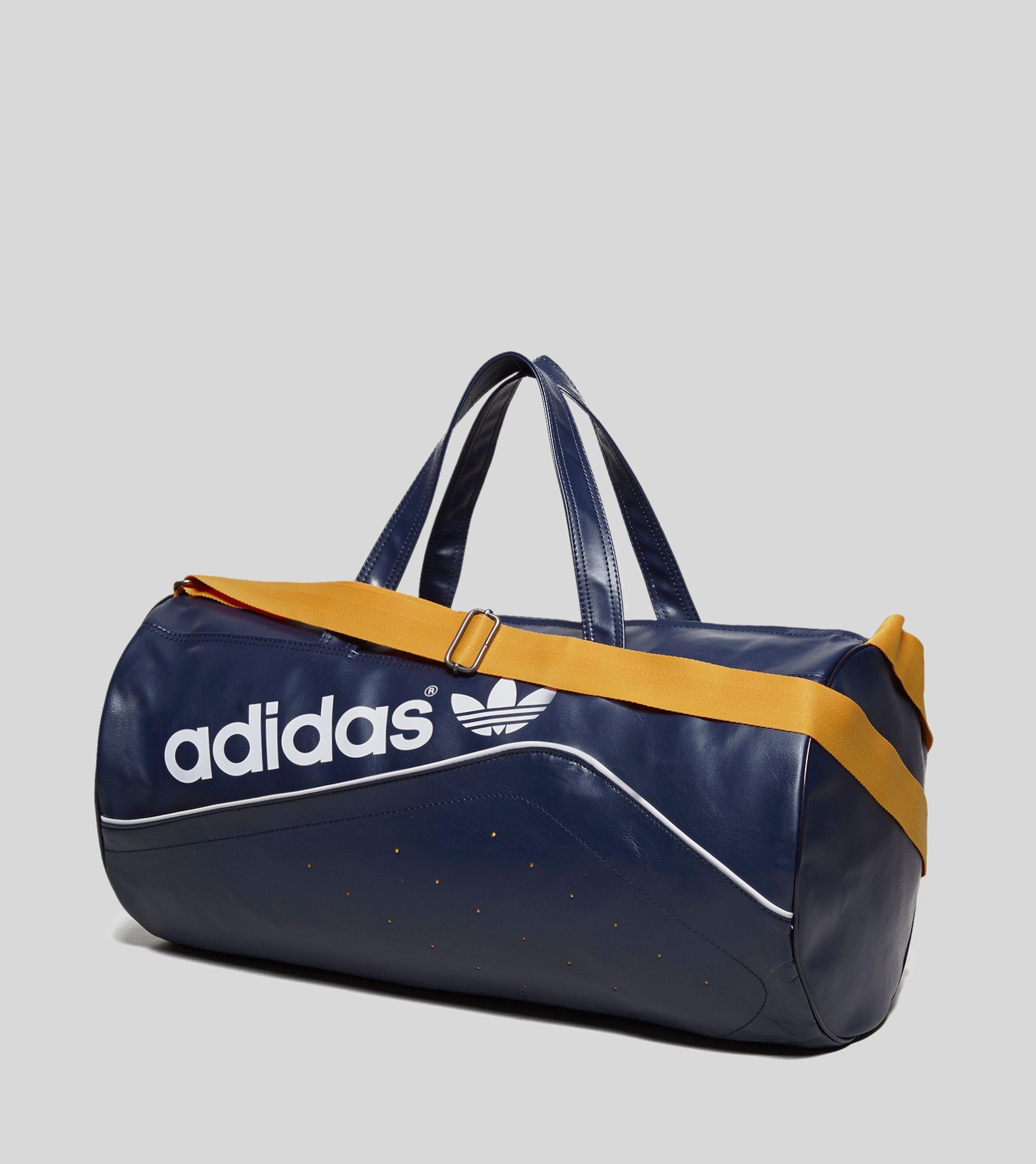 adidas originals perforated duffle bag size