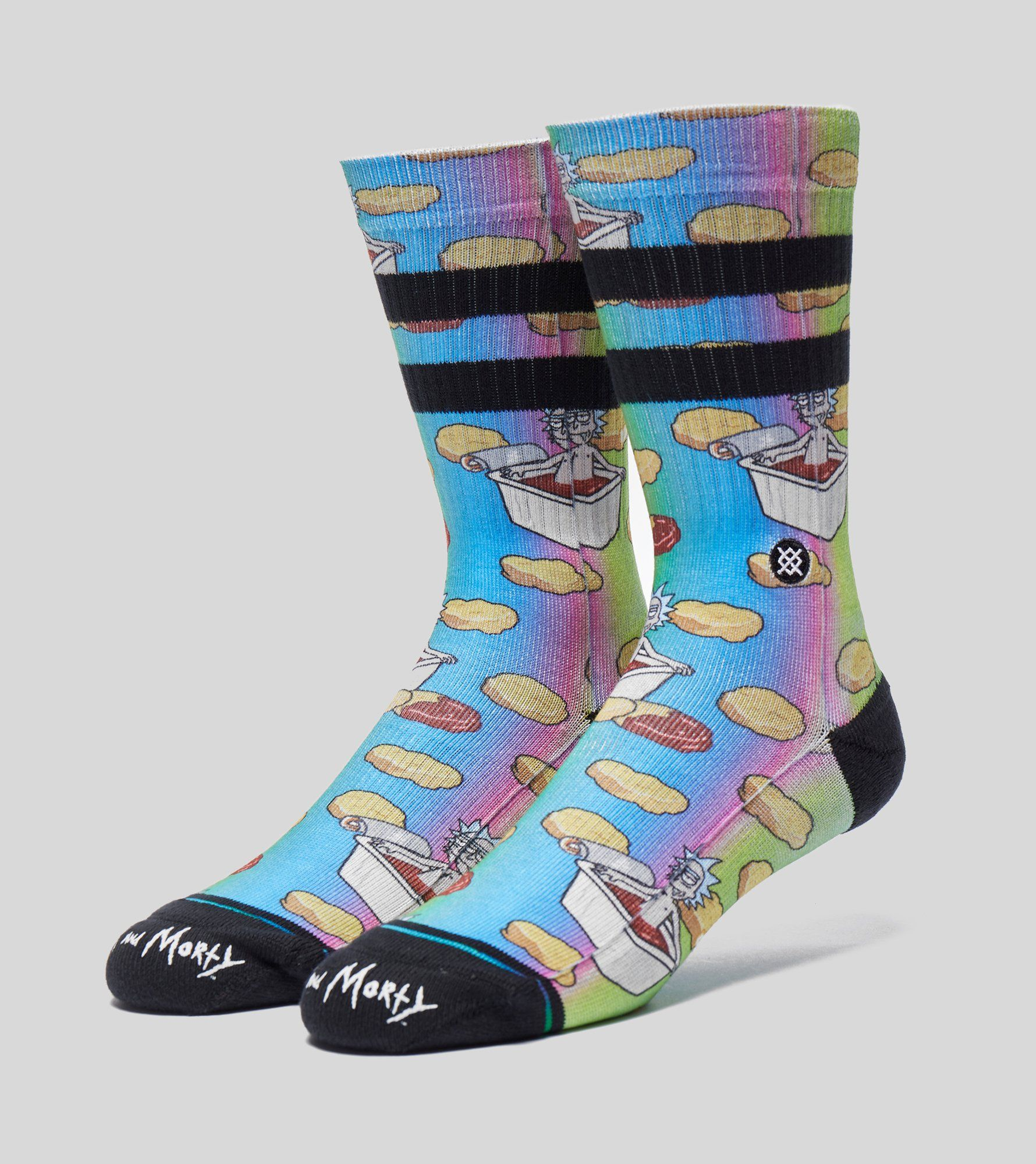 Stance Rick & Morty 'Dipping Sauce' Sock
