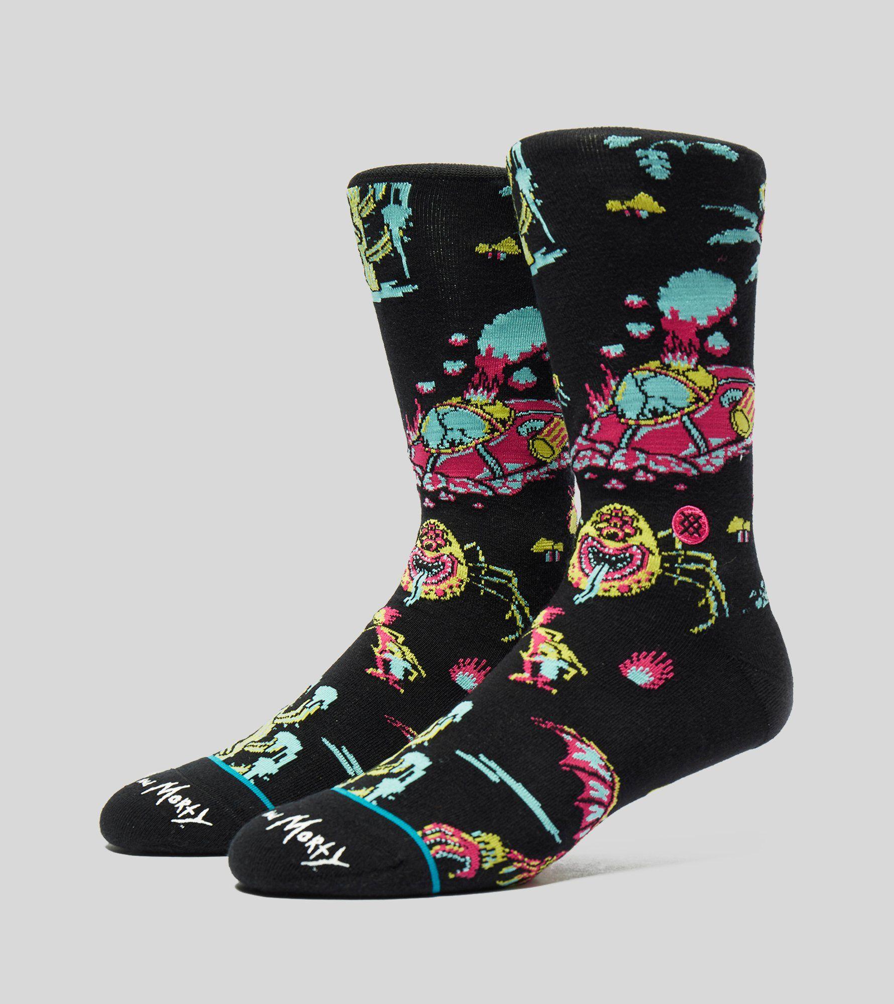 Stance Rick & Morty Crash Landing Socks