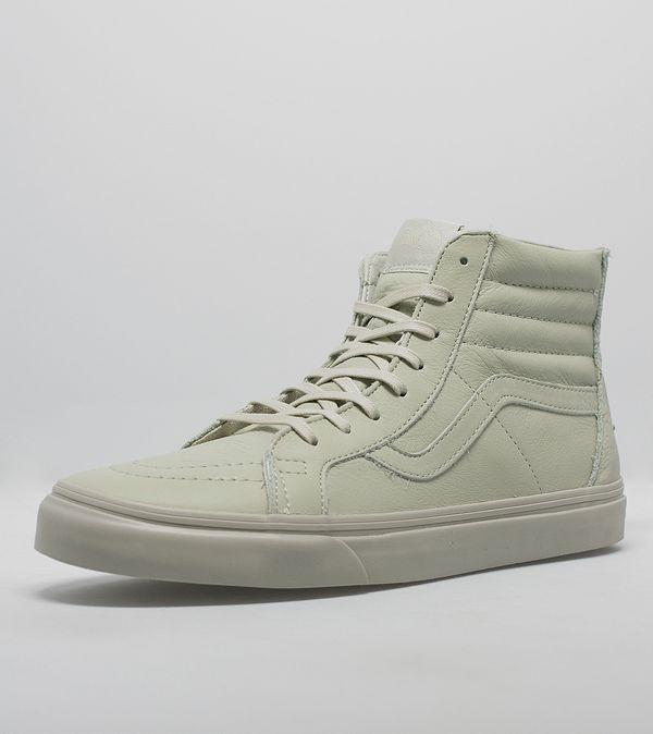 Vans Sk8-Hi Zip CA Leather  89c0455d6b