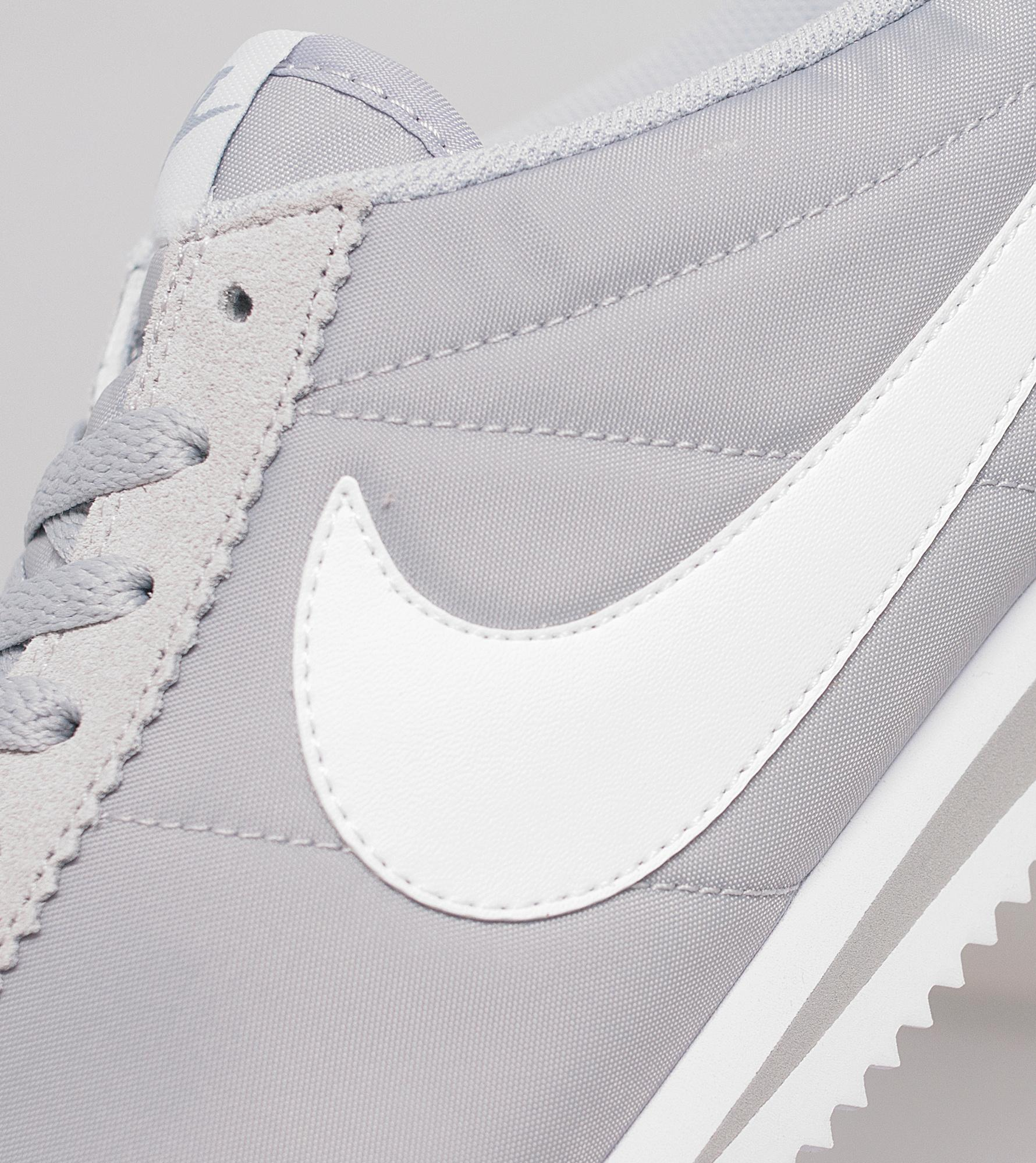 Grey Nike Cortez Size 5