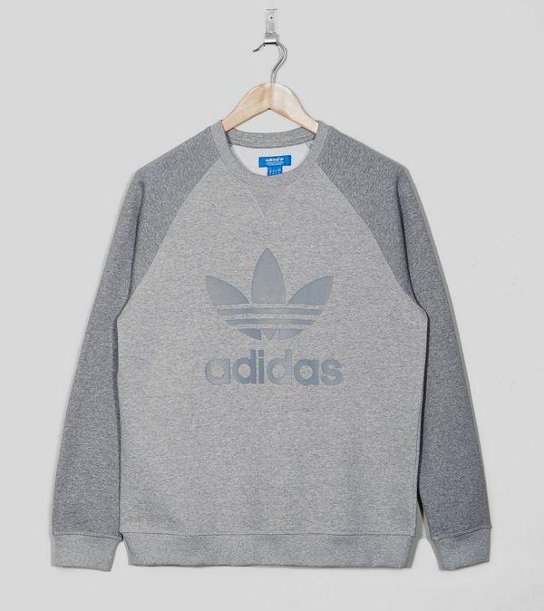 Sport Crew Size Sweat Raglan Originals Adidas Neck q5n7w15f