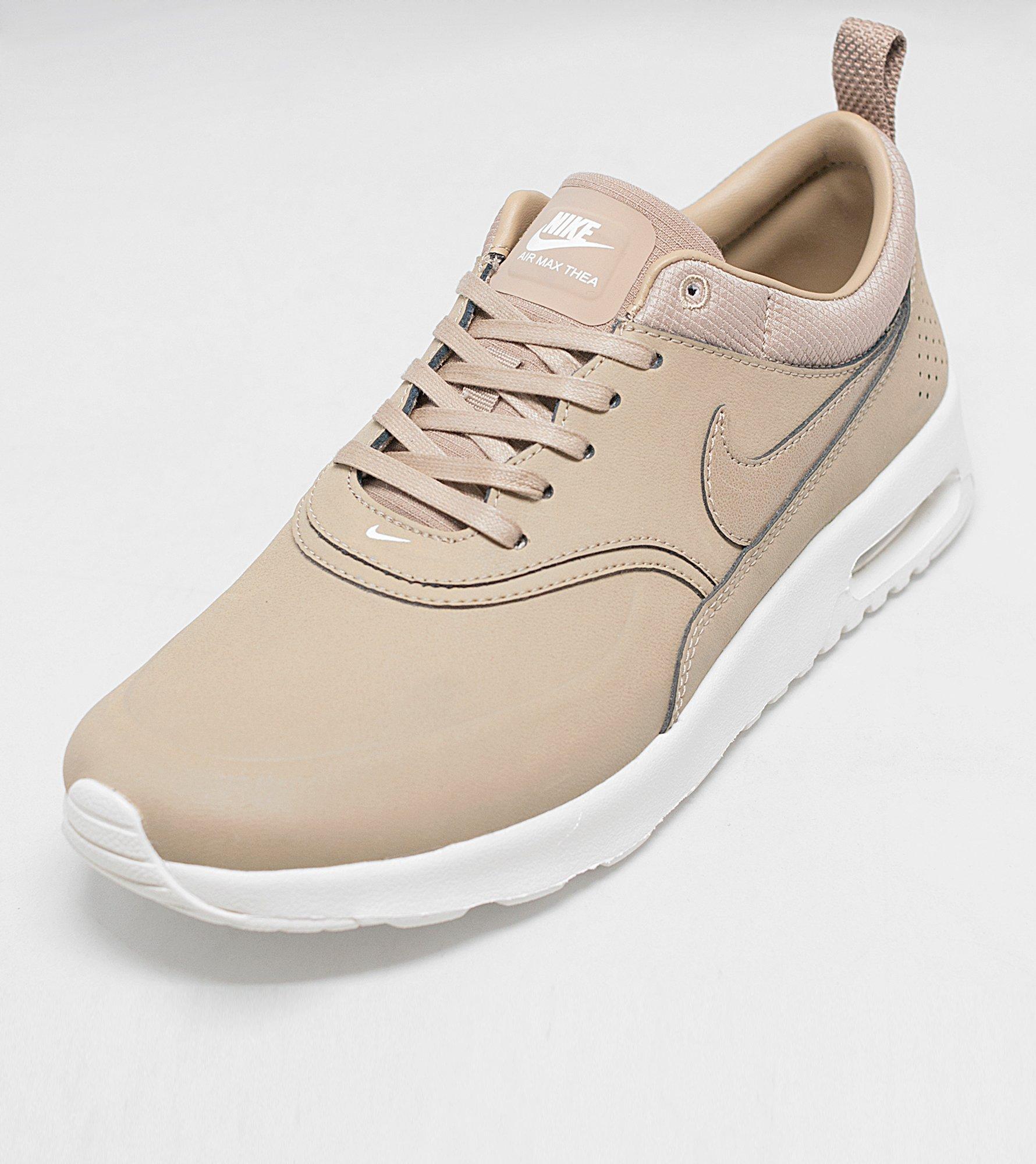 Nike Thea Air Max Chaussures En Cuir Thea Nike Premium Beige Précommander pour da1b73