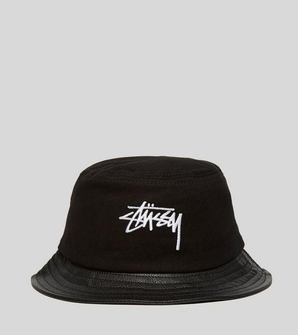 Stussy Stock Leather Brim Bucket Hat  cf44047467c3